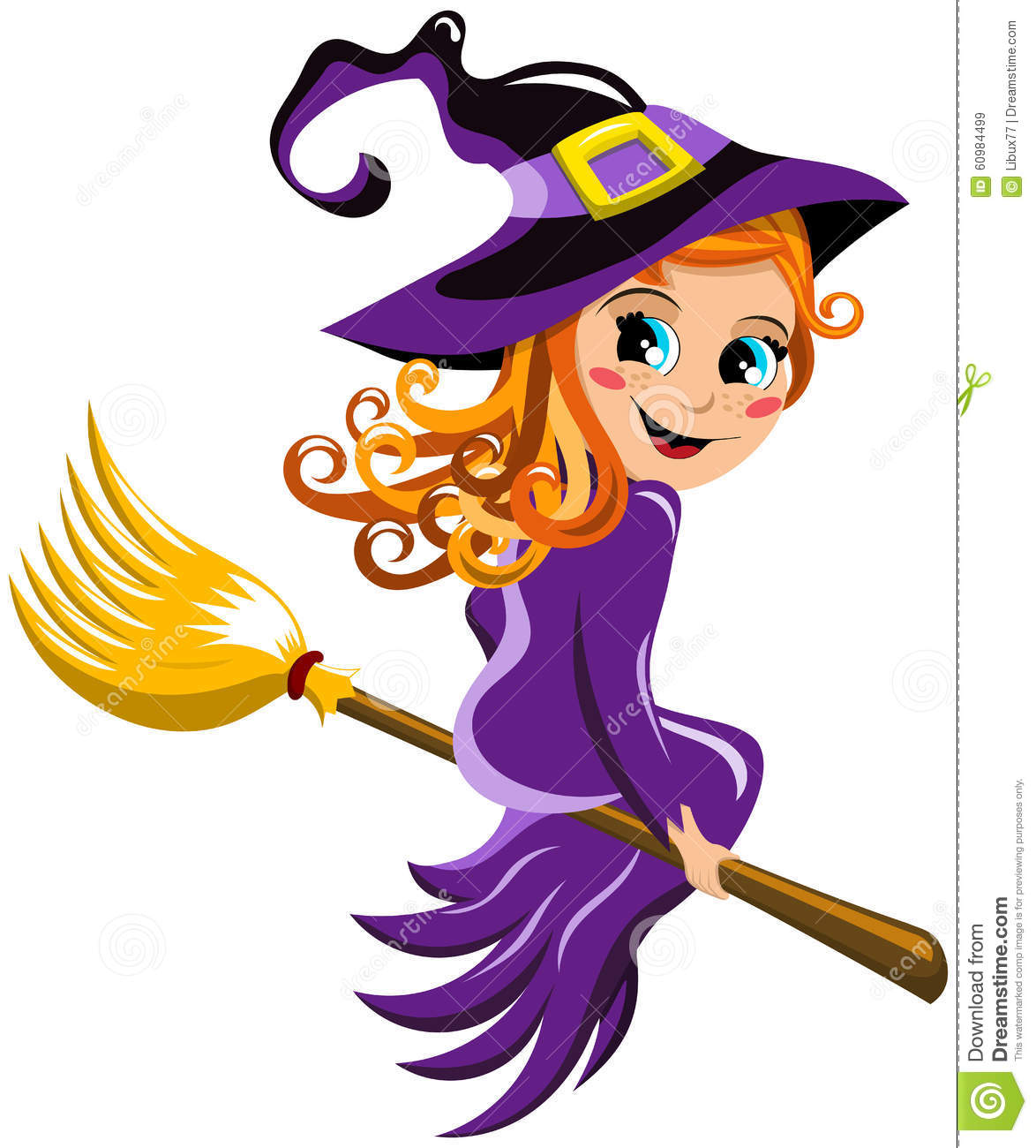 broom flying halloween isolated kid witch - Halloween Which