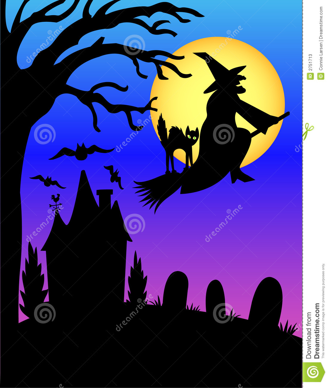 halloween witch silhouette  eps stock vector image 2751713 dracula clipart free dracula clipart black and white