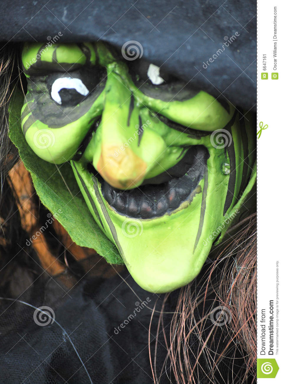 Halloween Witches Costumes stock image. Image of devil ...