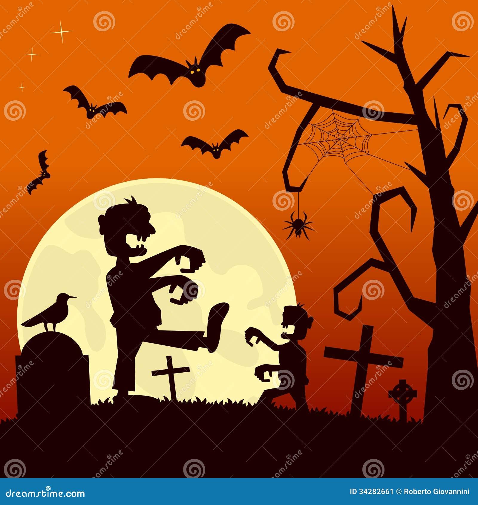 Halloweenowa noc z żywymi trupami