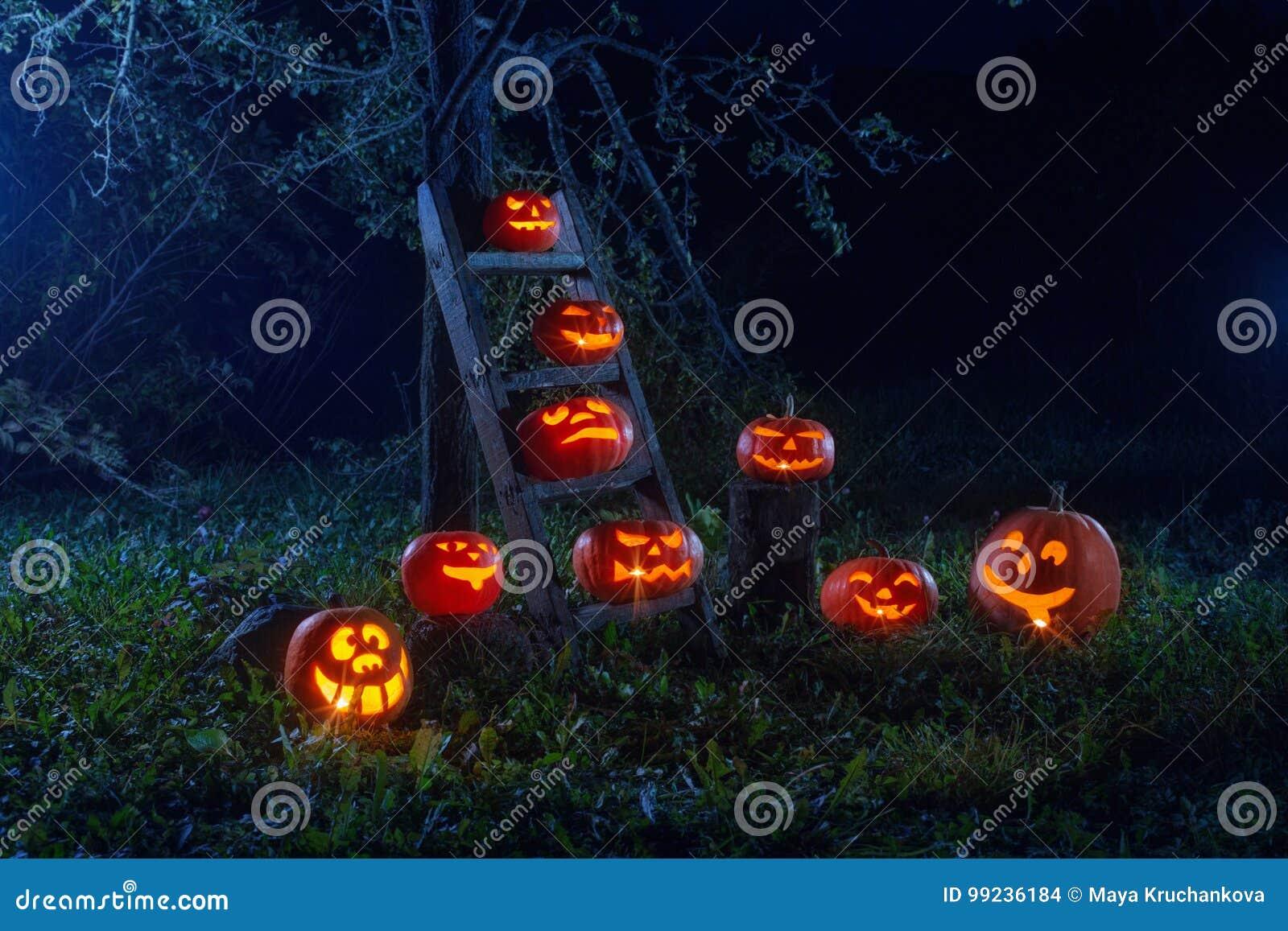Halloweenowe lampion banie