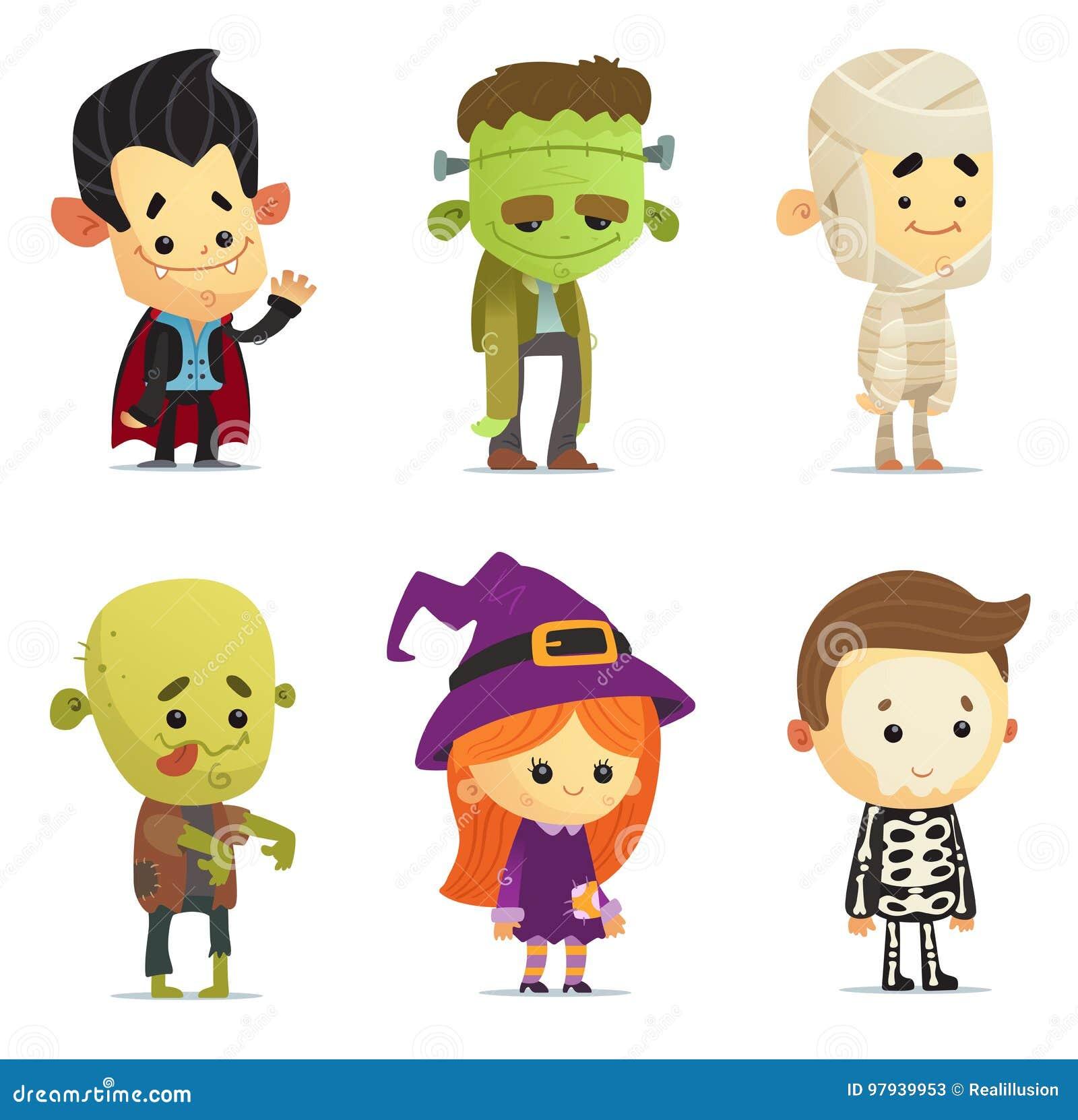 Halloweenowi charaktery