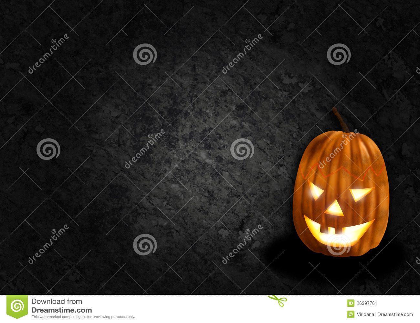 Halloweenowy dyniowy czarny tło