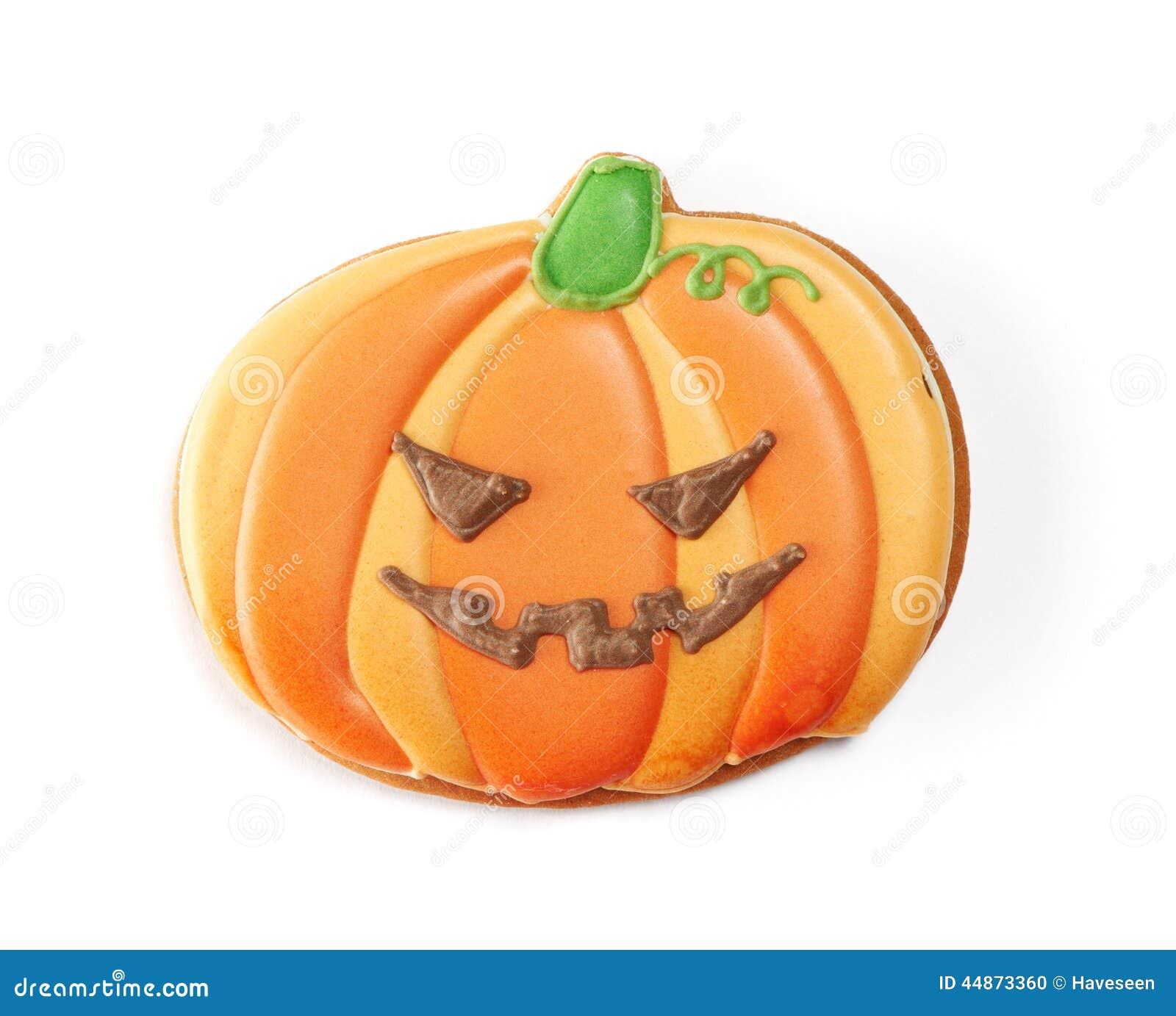 Halloweenowy piernikowy ciastko