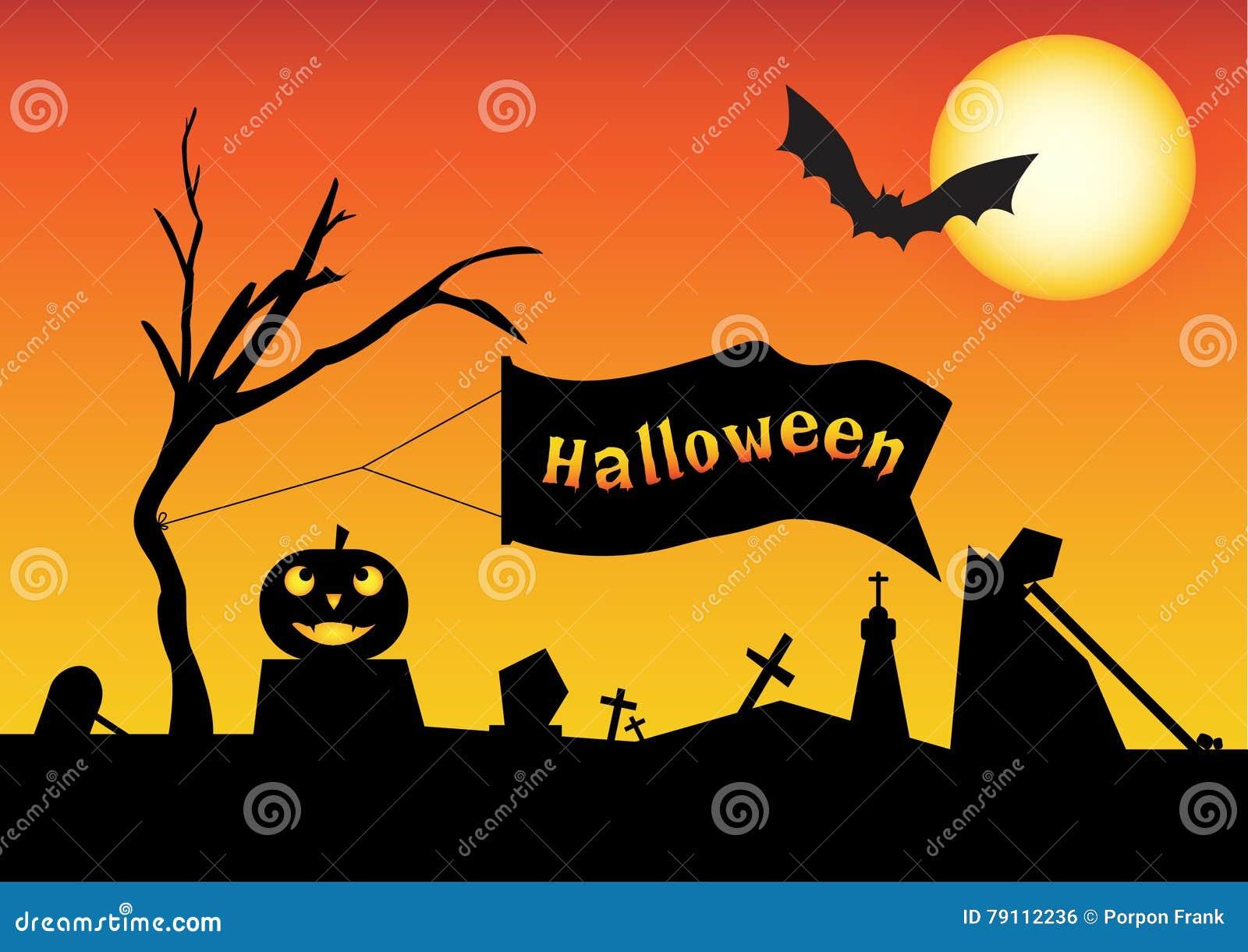 Halloweenowy wektor