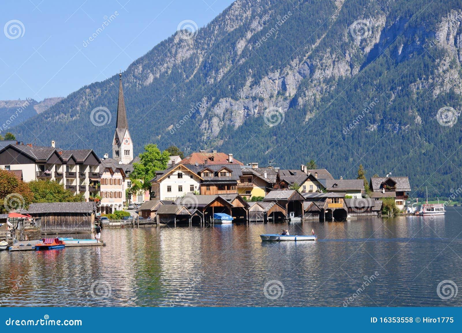 Hallstatt, Salzkammergut, Austria Royalty Free Stock Photos - Image ...