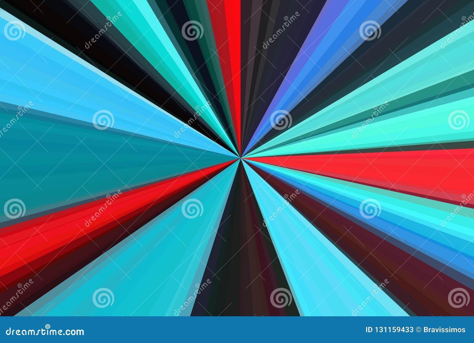 Hallucinogen fluorescente achtergrond van surreal kleuren Abstract illusiethema psychedelisch effect LSD-effect