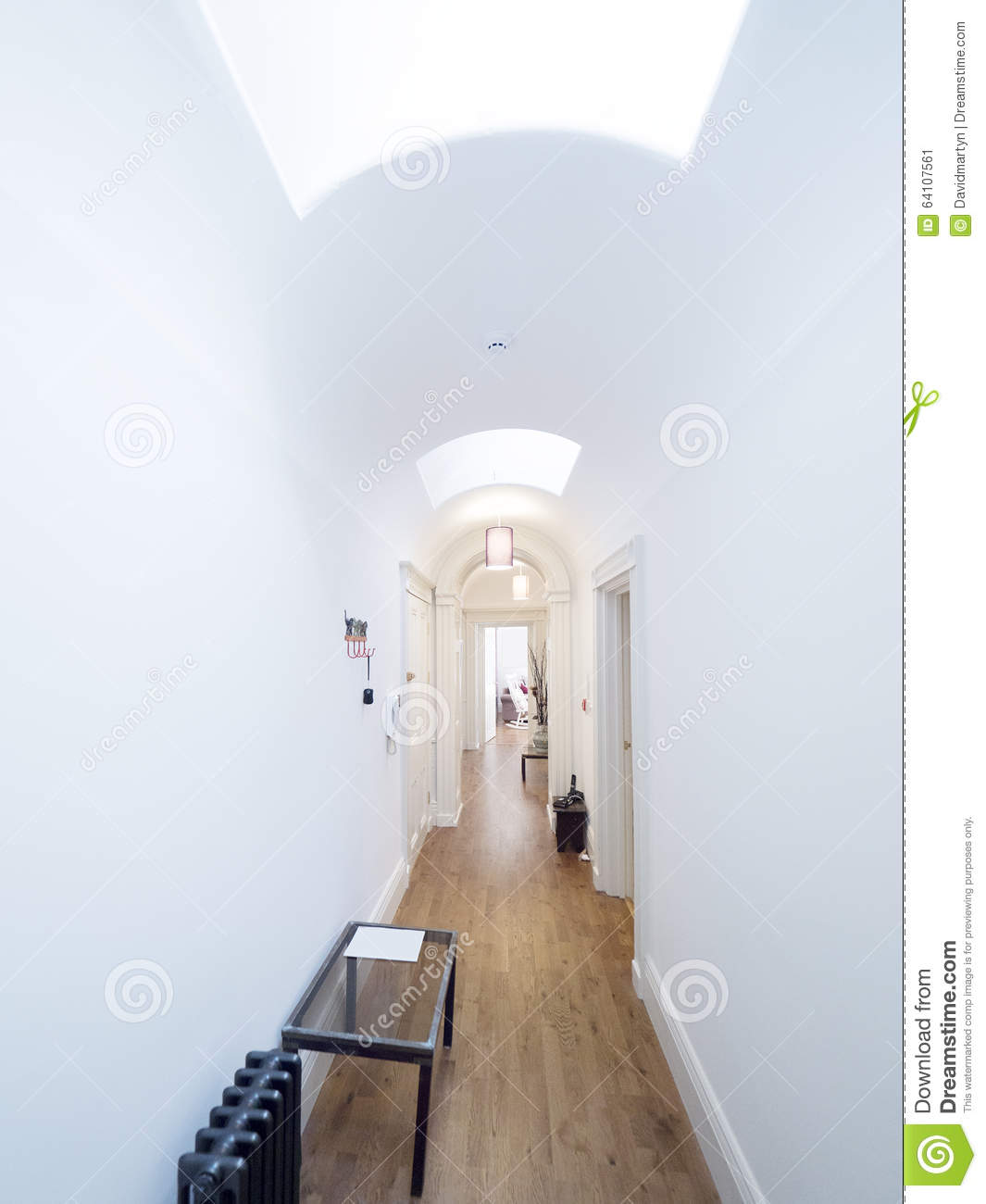 Hallway Stock Image. Image Of Home, Constructioncategory