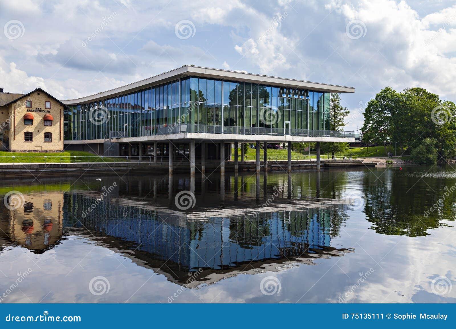 Halmstad Art Exhebition Hall Editorial Photo Image Of
