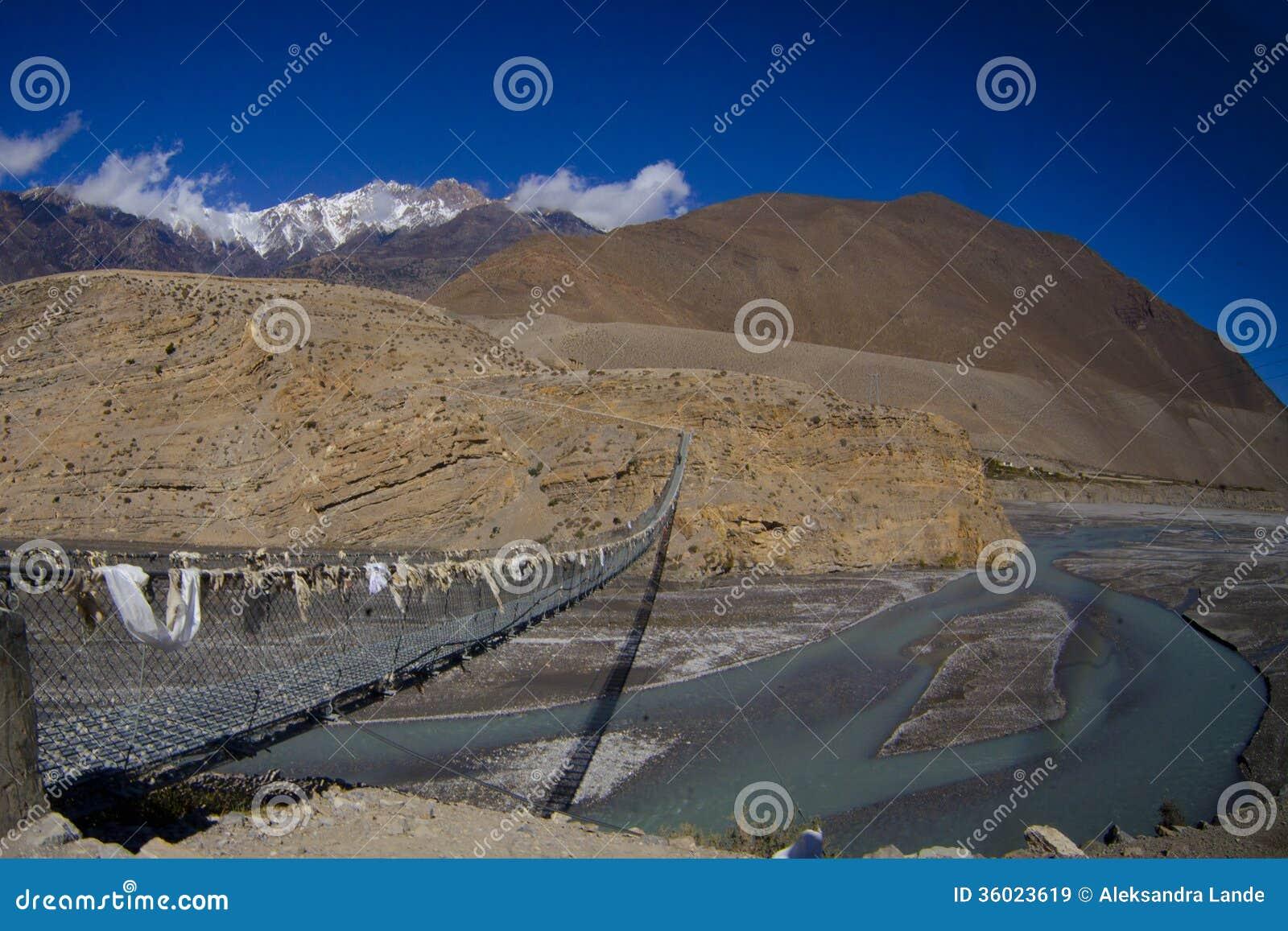 Halna Nepal rzeka