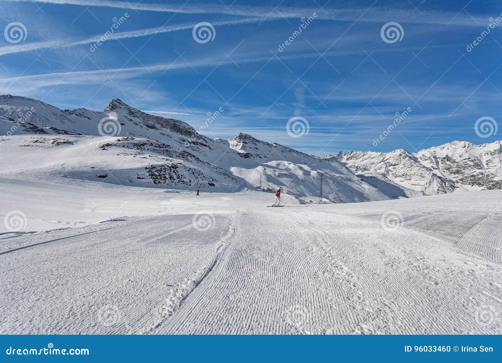 Halny narciarstwo - Włochy, Valle d ` Aosta, Cervinia