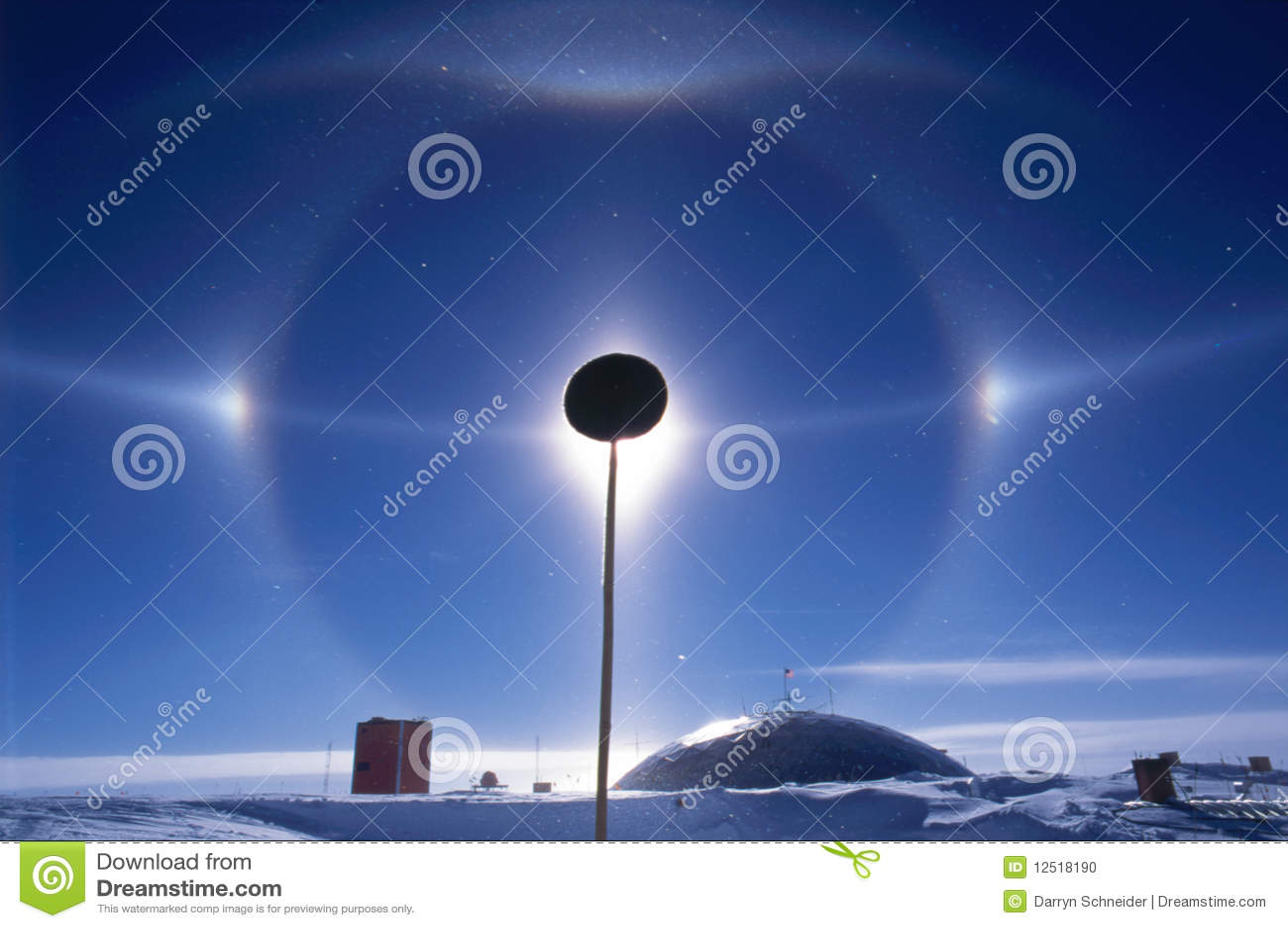 Halo de Pôle du sud