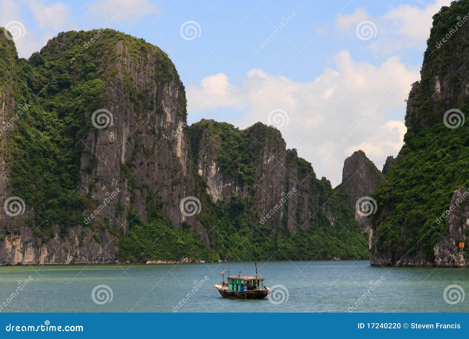 Halong Bay Cliffs