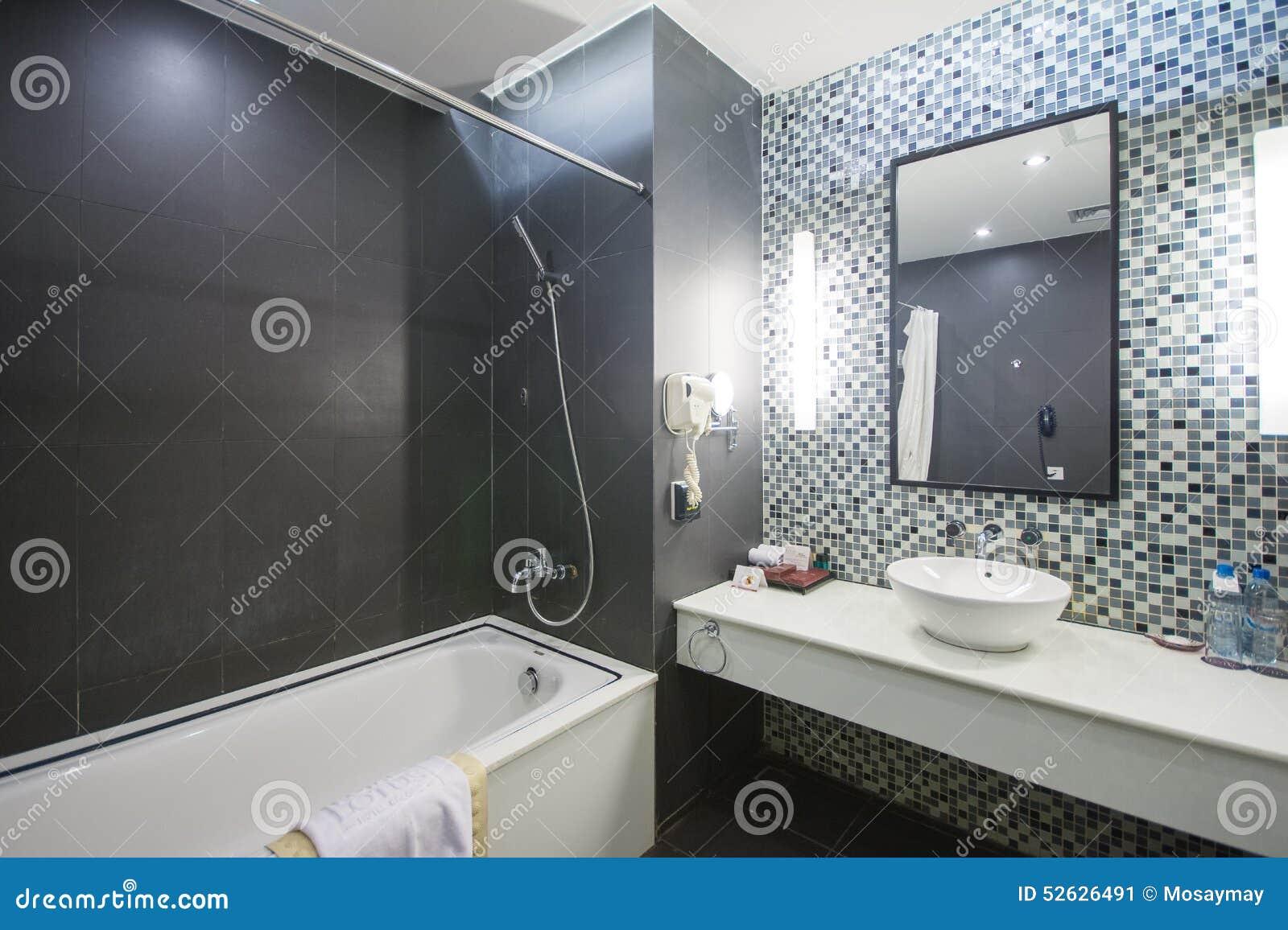 Halong-Stadt, Vietnam Am 12. März:: Modernes Badezimmer Im Hotel Bei ...
