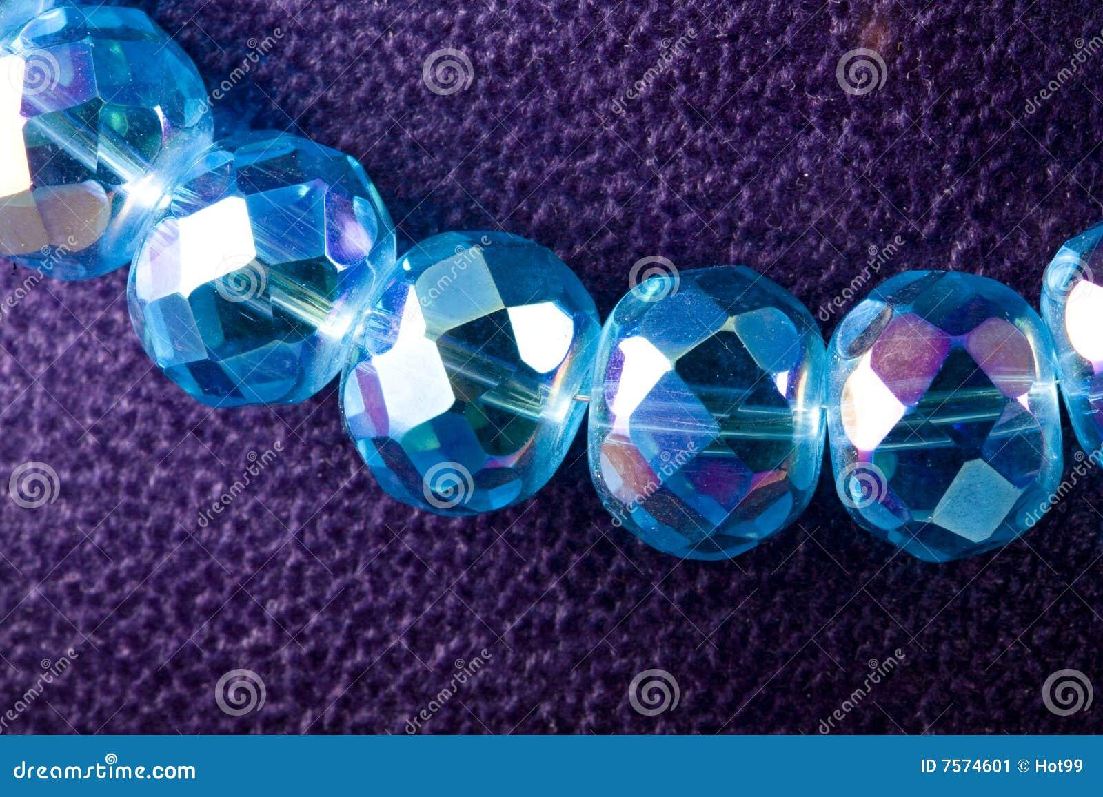 Halsband van kristal