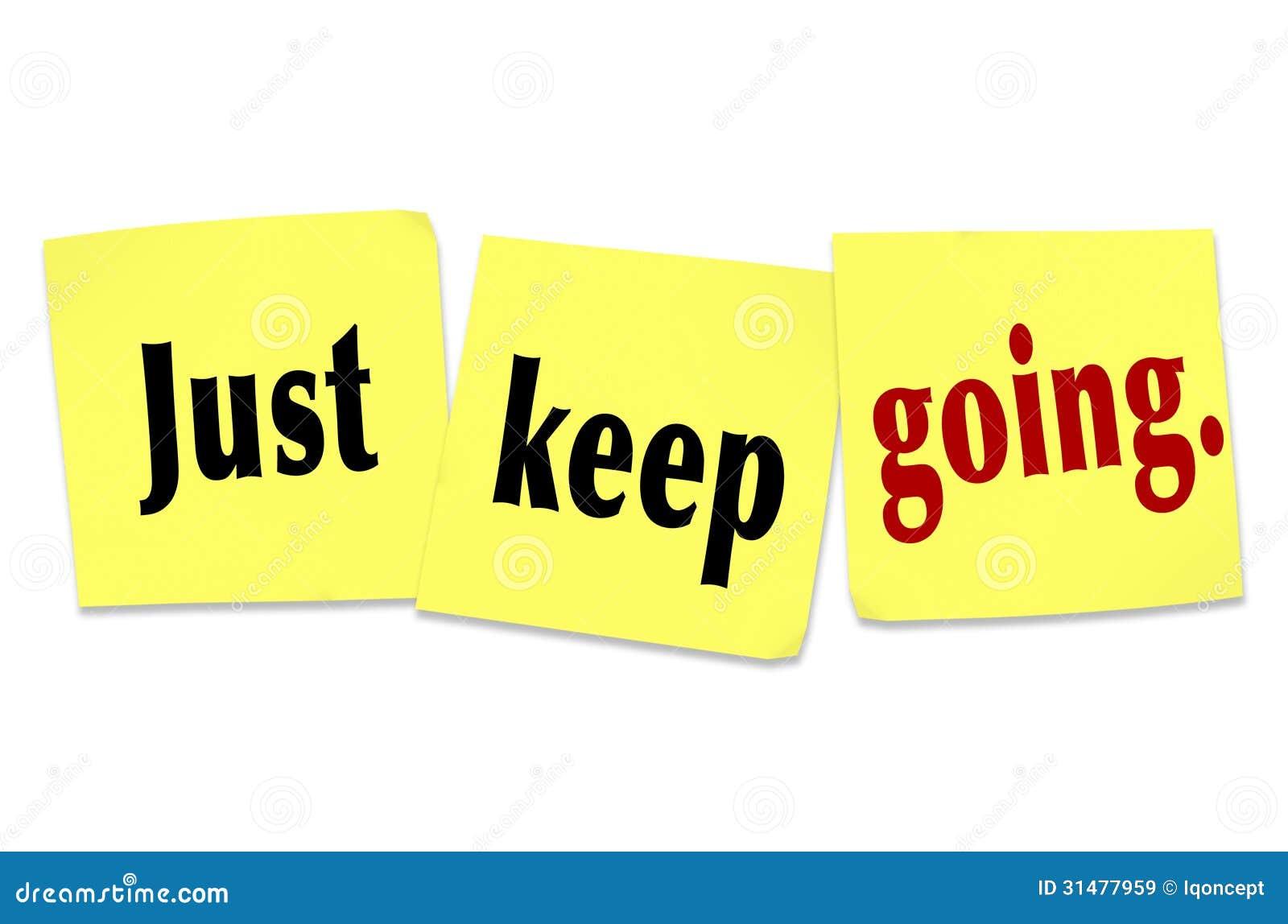 Halten Sie einfach gehende Bestimmungs-Ausdauer-gewinnende Haltung