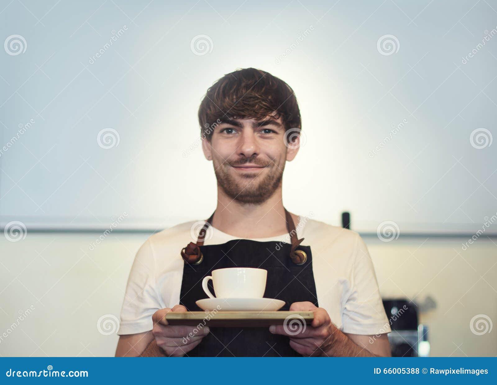Halten Sie Umhüllungs-Konzept Restaurant Barista Cafe Coffee Shop instand
