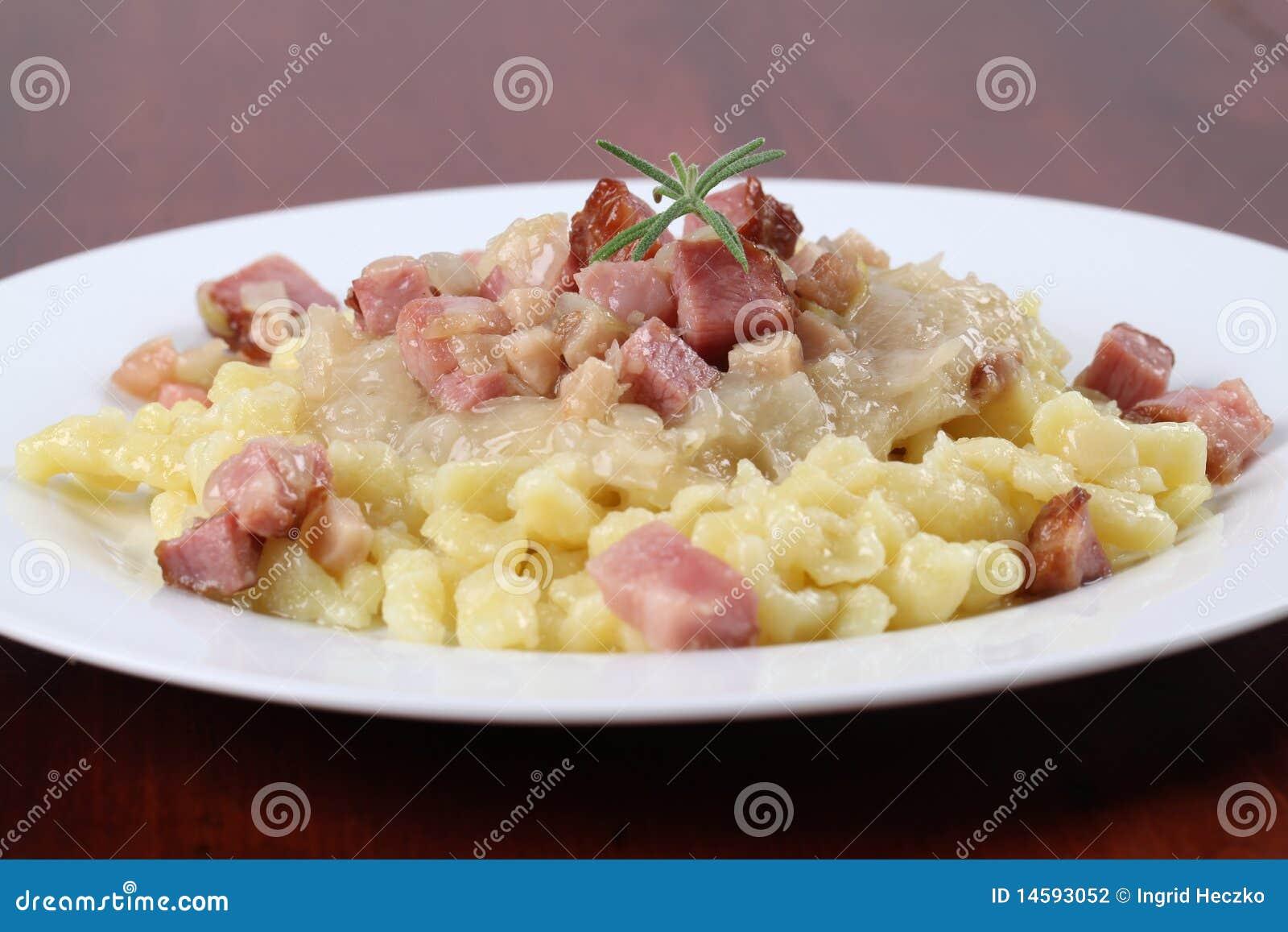 Halushky nationell slovak för mat