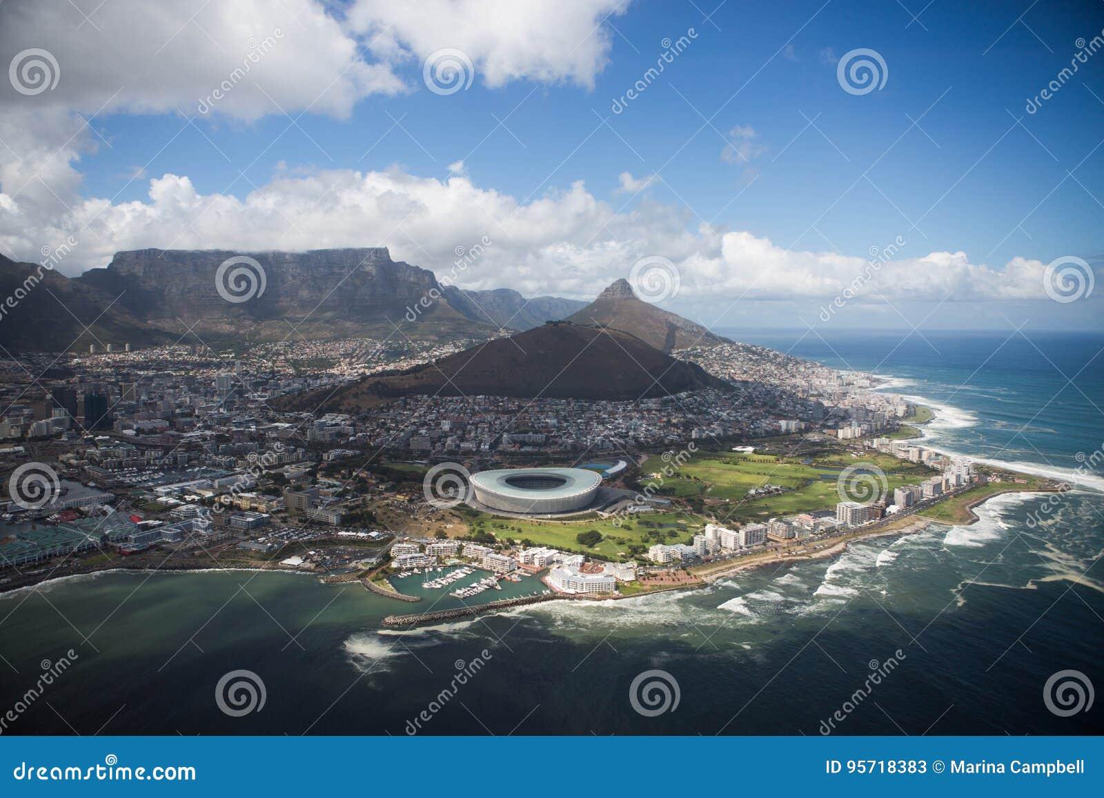 Halvö Cape Town Sydafrika