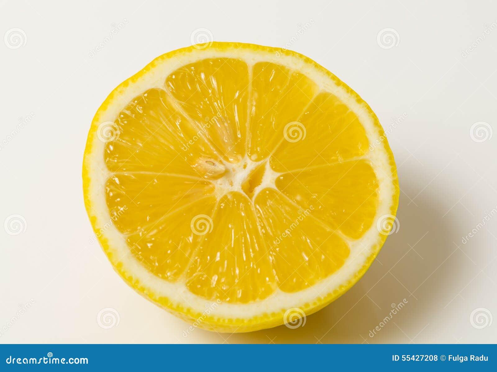 Halve citroen