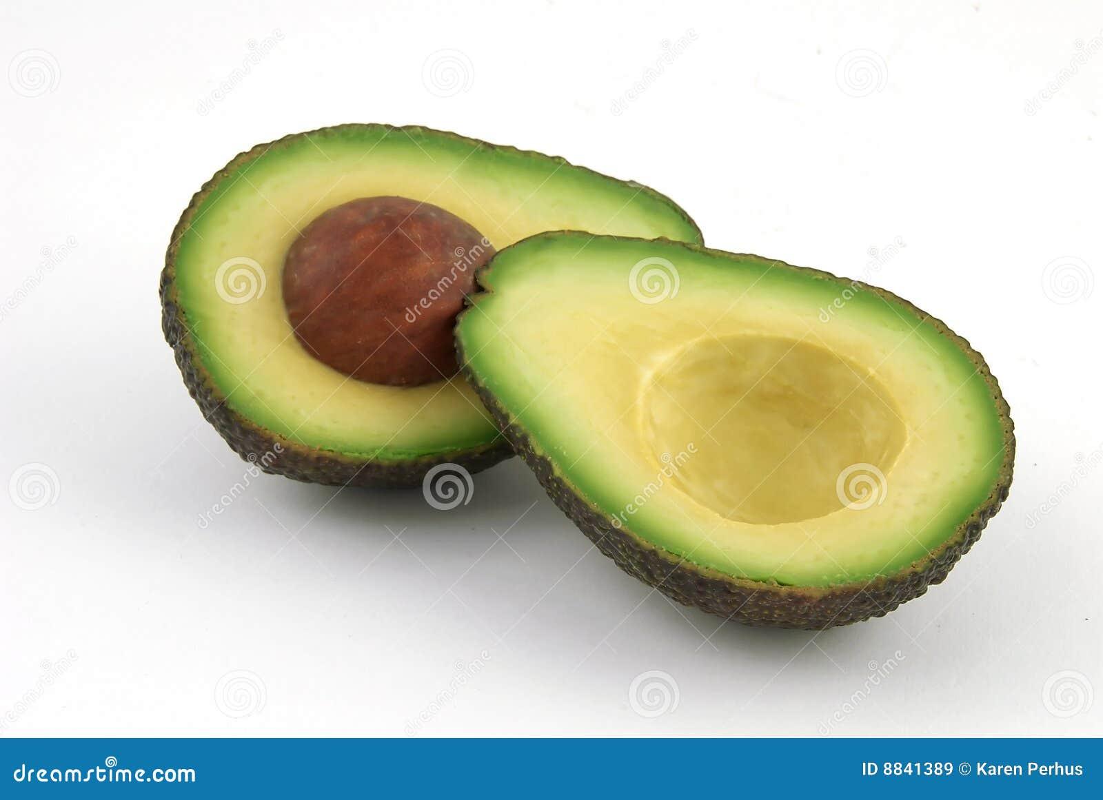 how to store half cut avocado