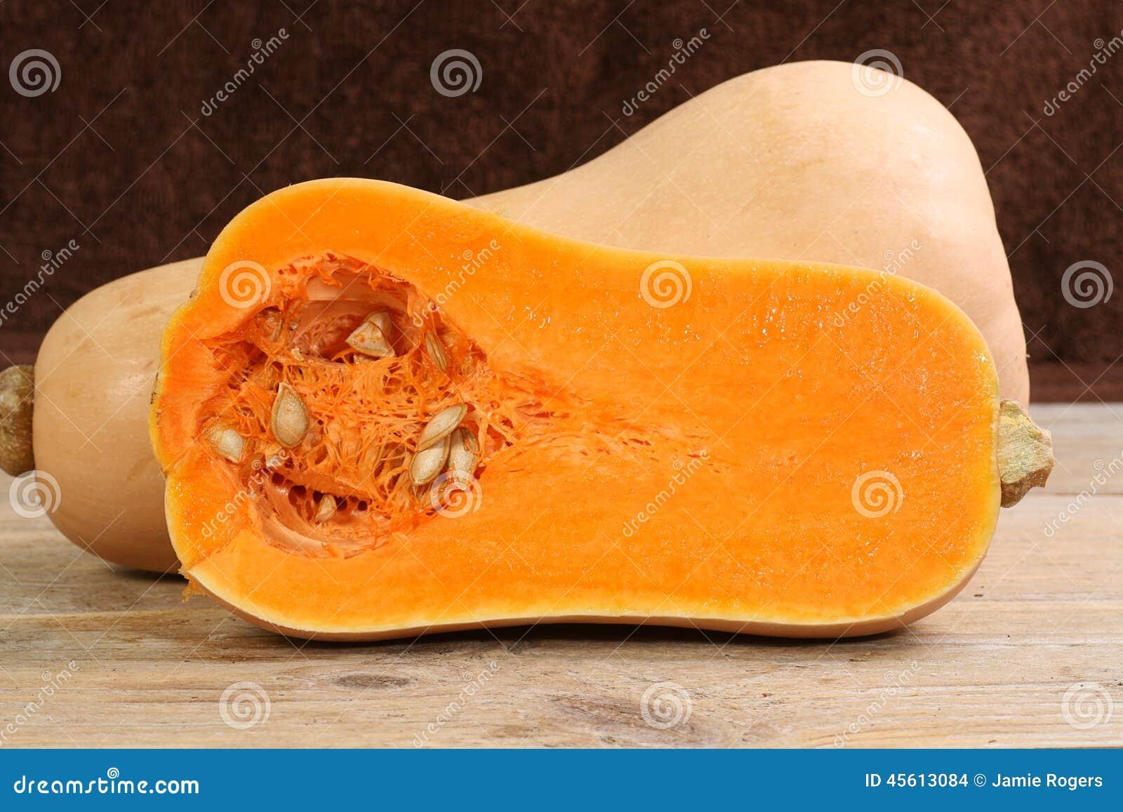 Halverad butternutsquash