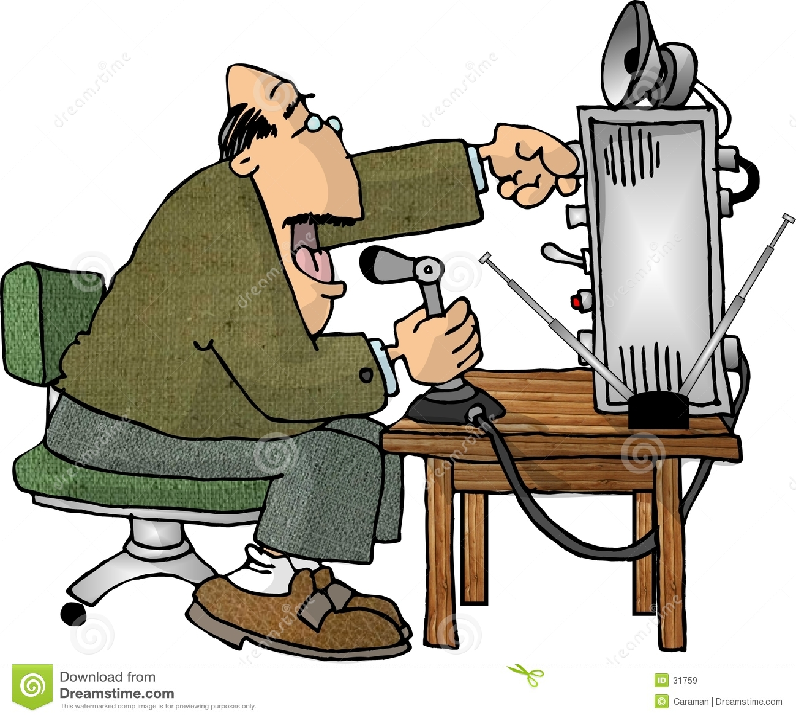 Ham radio operatora