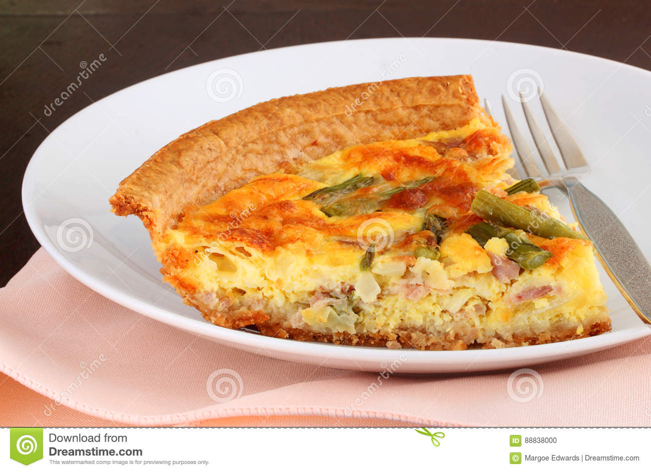 Cheese And Ham Quiche Good Food