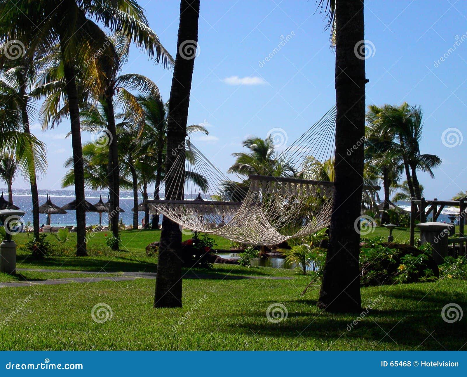 Download Hamac photo stock. Image du jardin, laguna, relaxation, pagodas - 65468