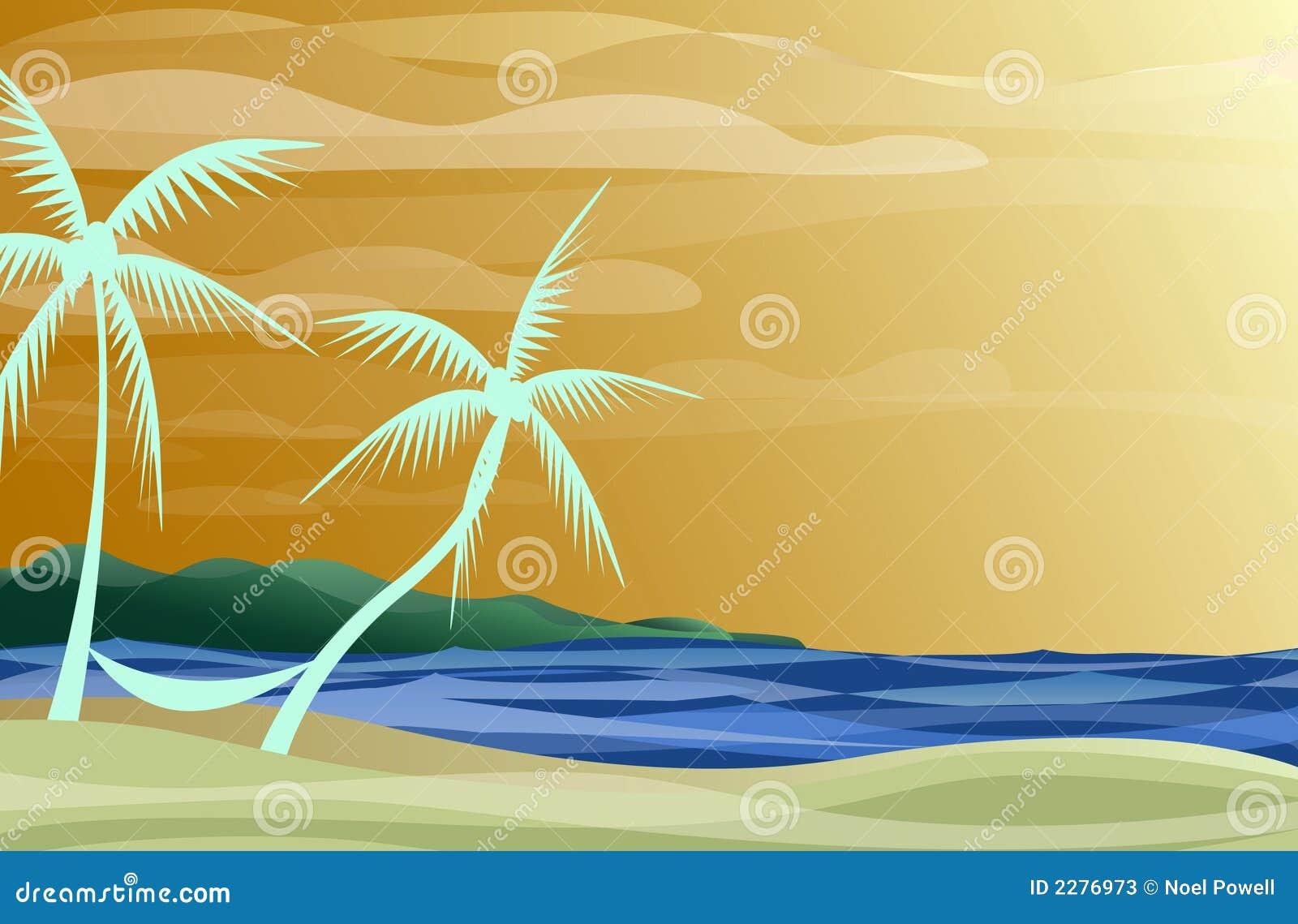 Hamaca en la playa fotos de archivo imagen 2276973 - Hamacas de playa ...