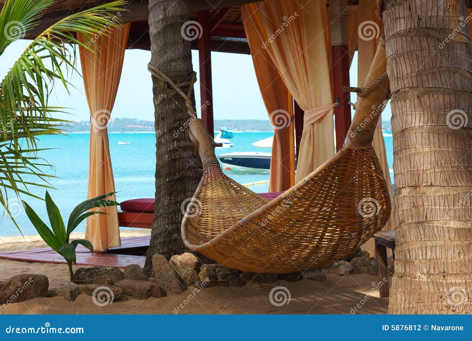 Hamaca en la playa - Hamacas de playa ...