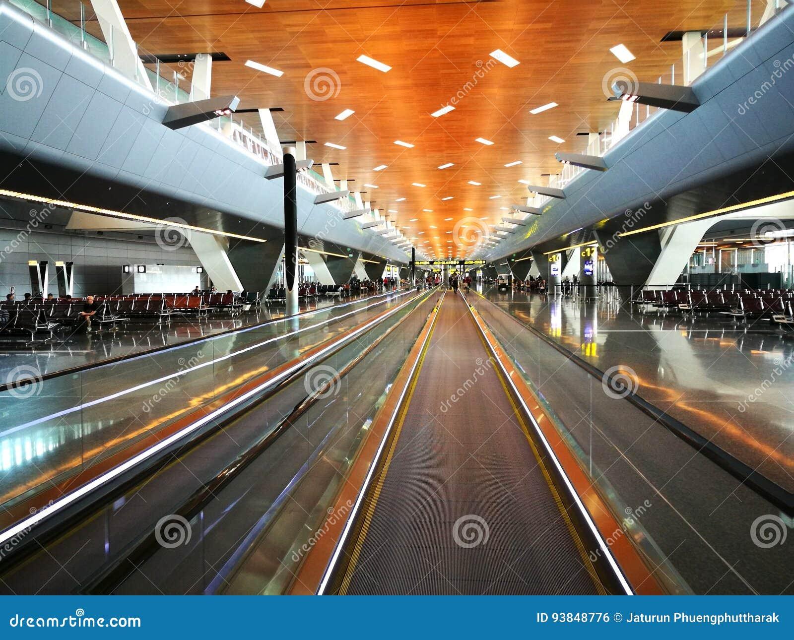 Aeroporto Del Qatar : Hamad international airport è l aeroporto internazionale