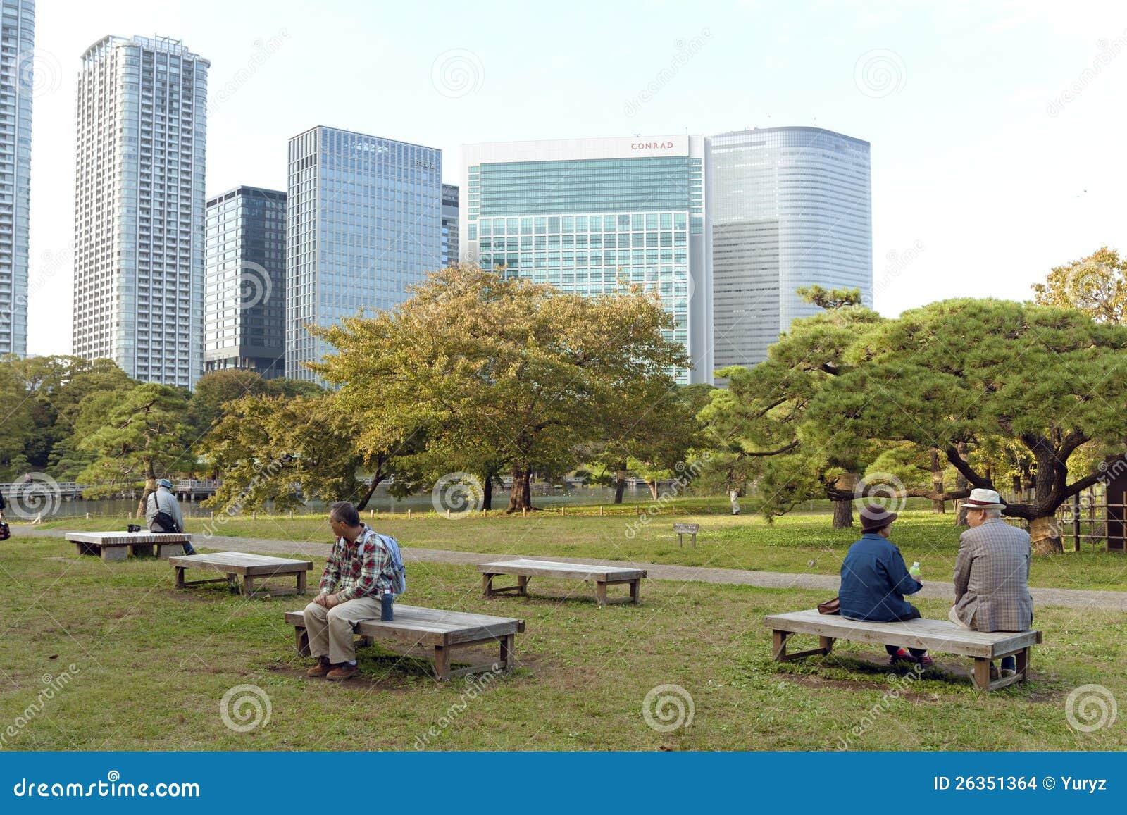 Hamarikyu Gärten, Tokyo