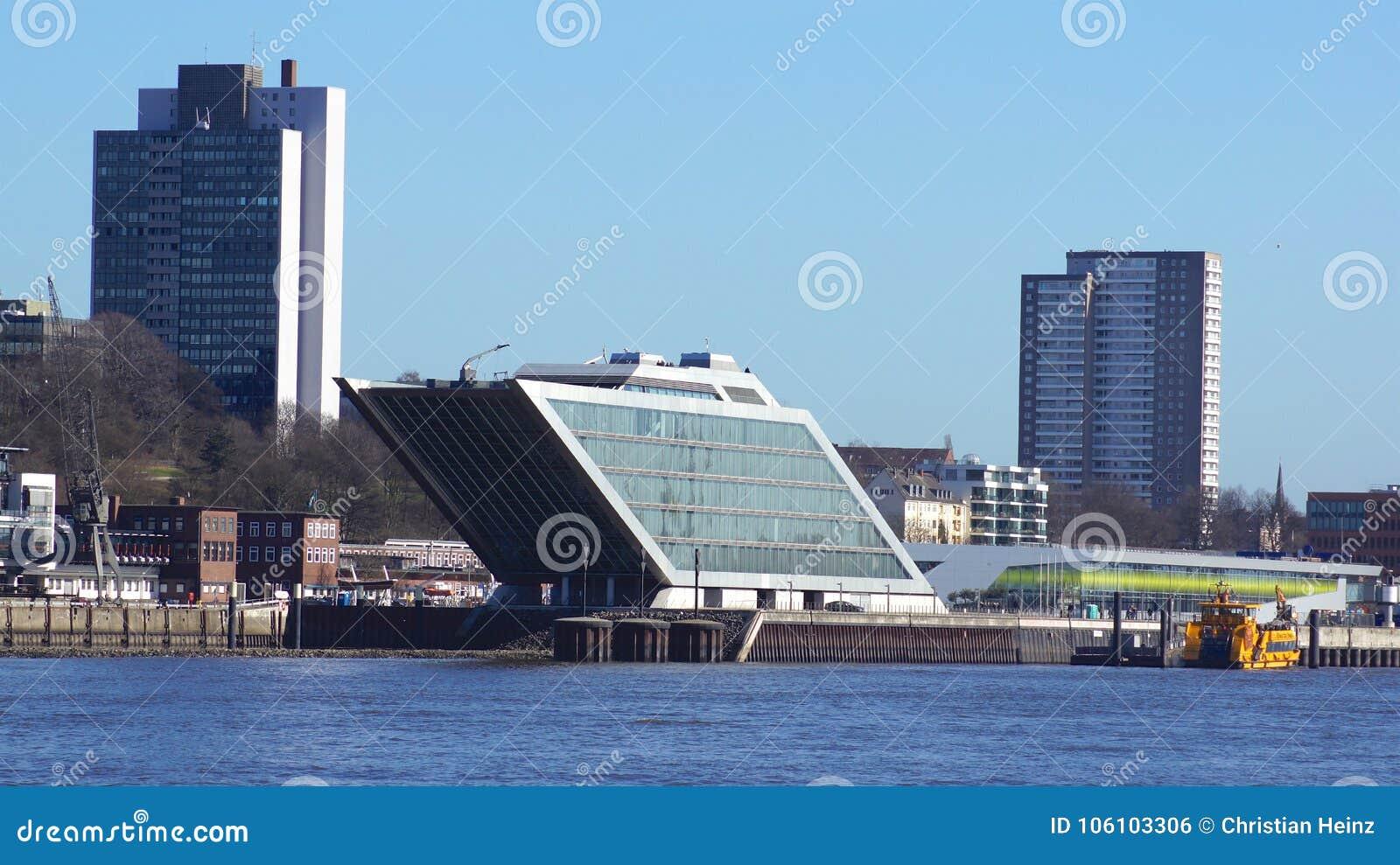Hambourg allemagne mars l immeuble de bureaux de