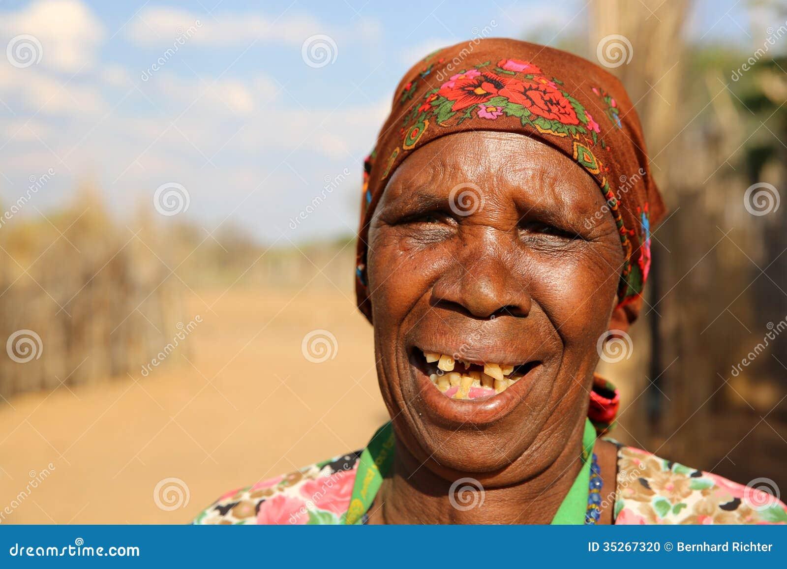 Divundu Namibia  City new picture : Hambukushu Tribe Woman near Divundu. Namibia.