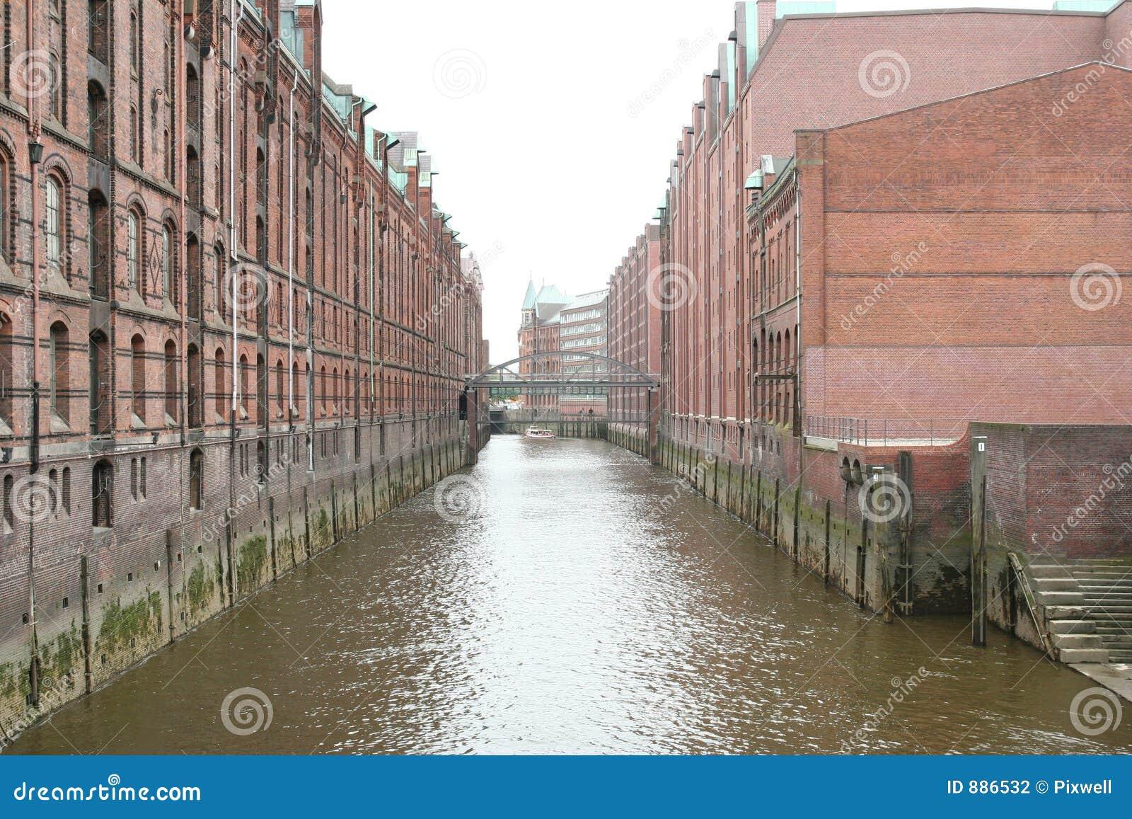 Hamburg 2 domów magazyn