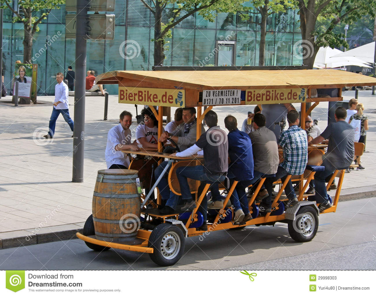The Party Bike Home