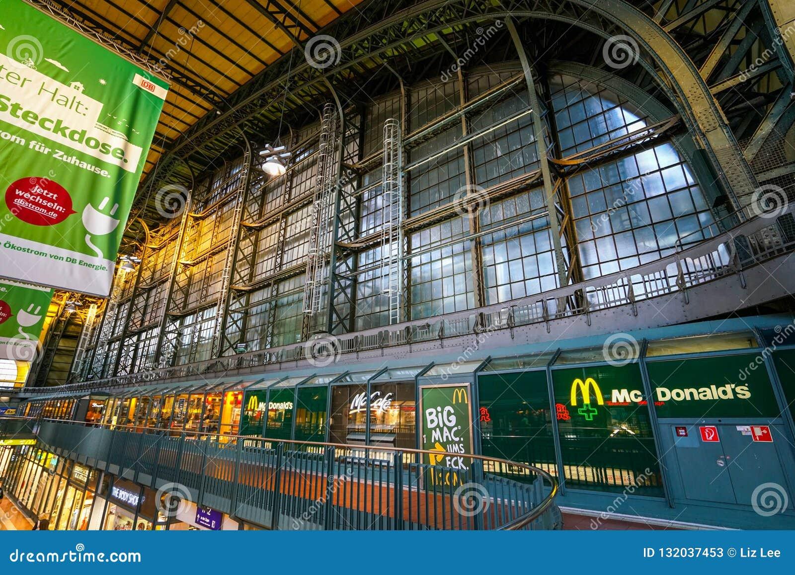 Hamburg Hauptbahnhof railway station
