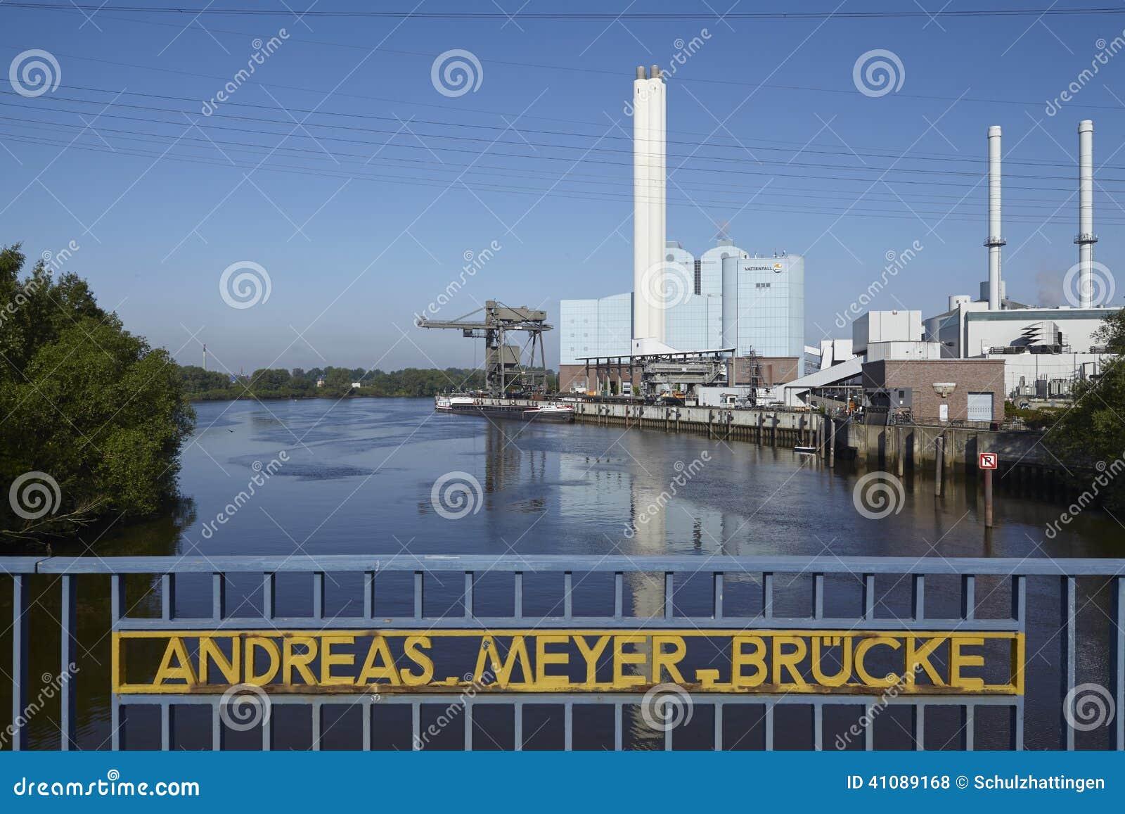Hamburg - Kraftwerk Tiefstack (Kohle)