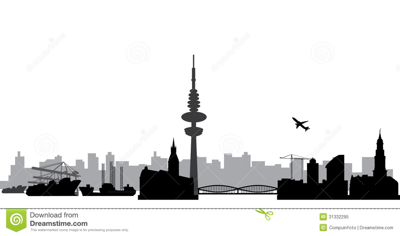 Hamburg Skyline Royalty Free Stock Photo - Image: 31332295