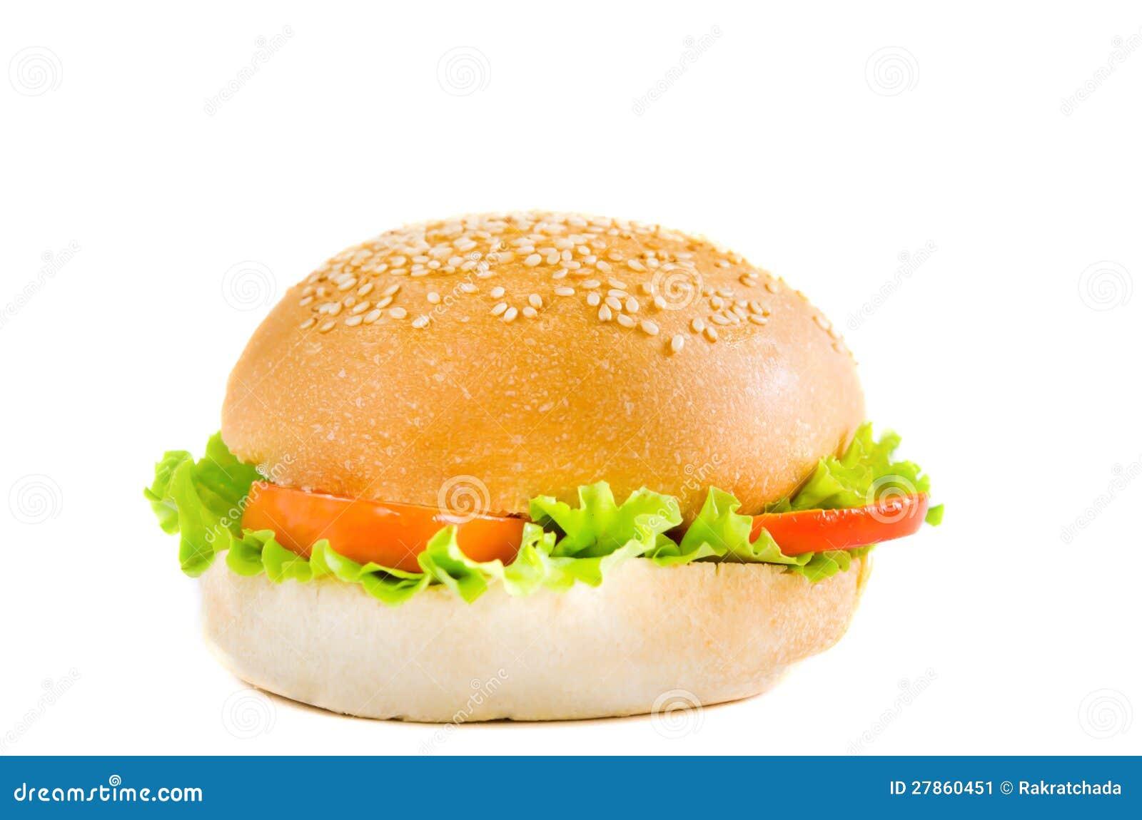 Hamburger żadny mięso