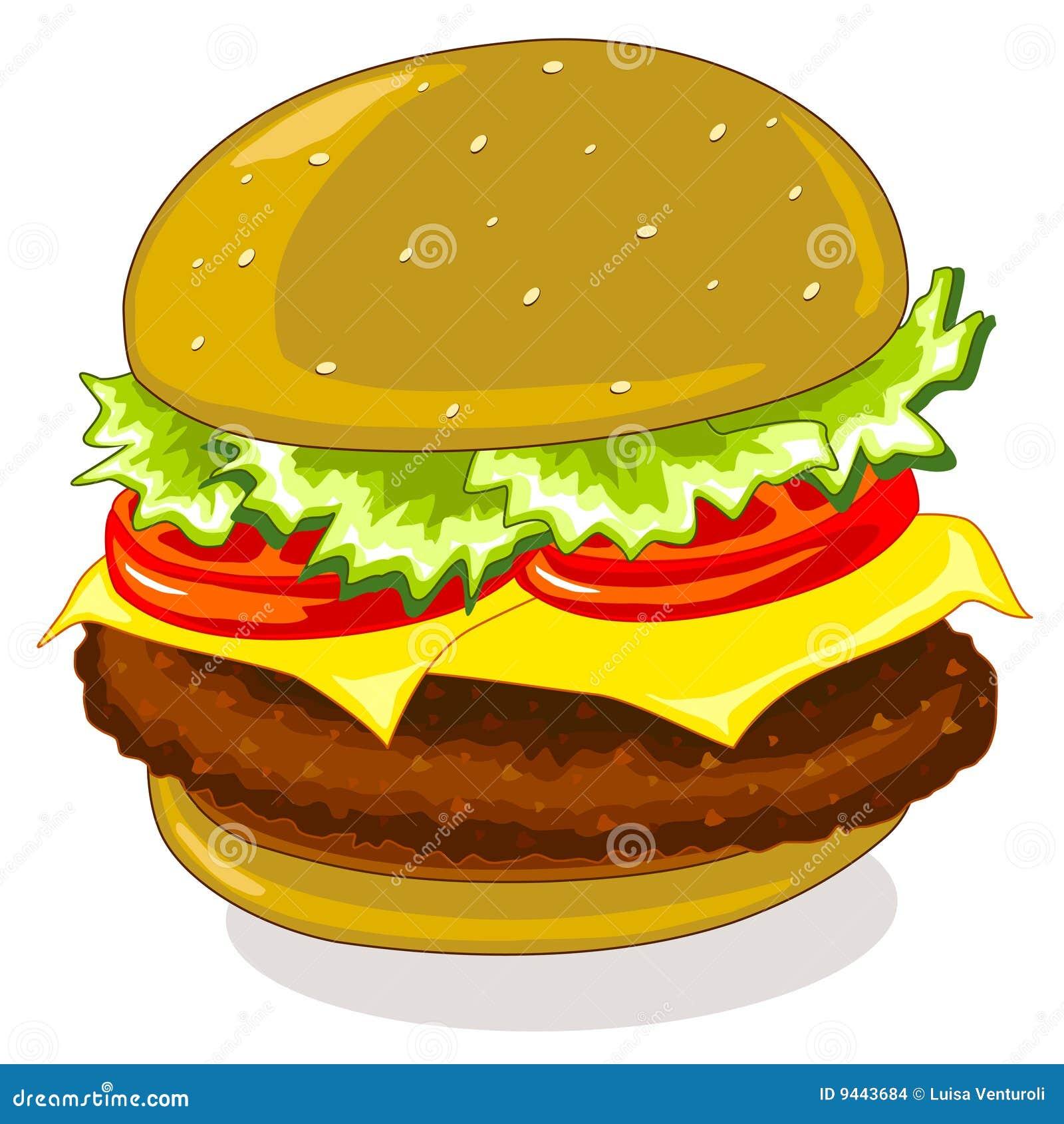 Hamburger Stock Images - Image: 9443684