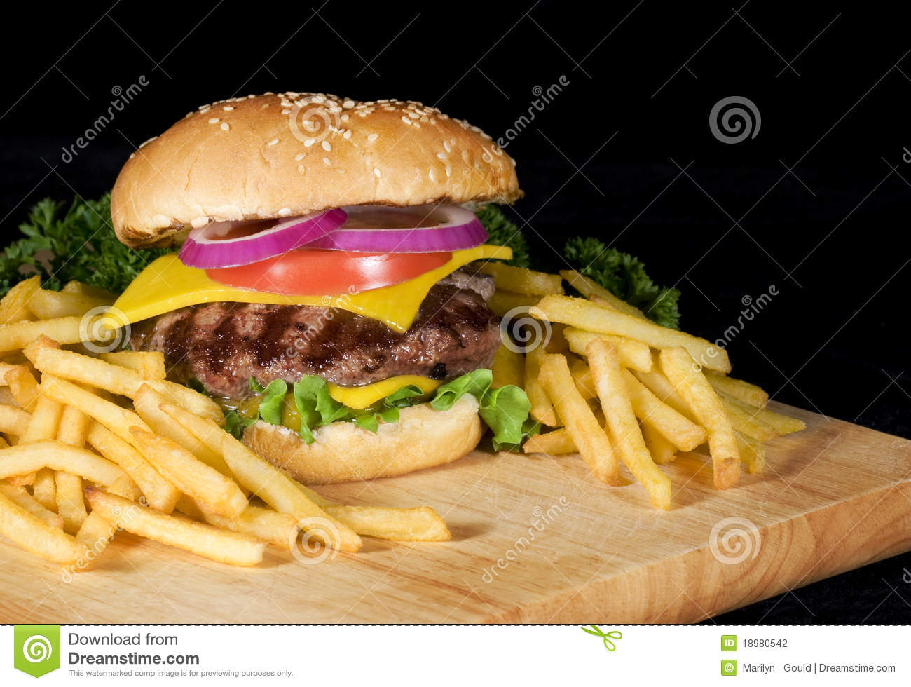 Hamburger & fritture