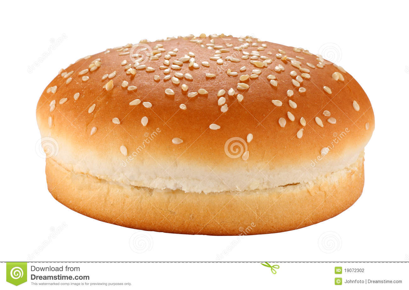 Hamburger Bun Stock Photography - Image: 19072302