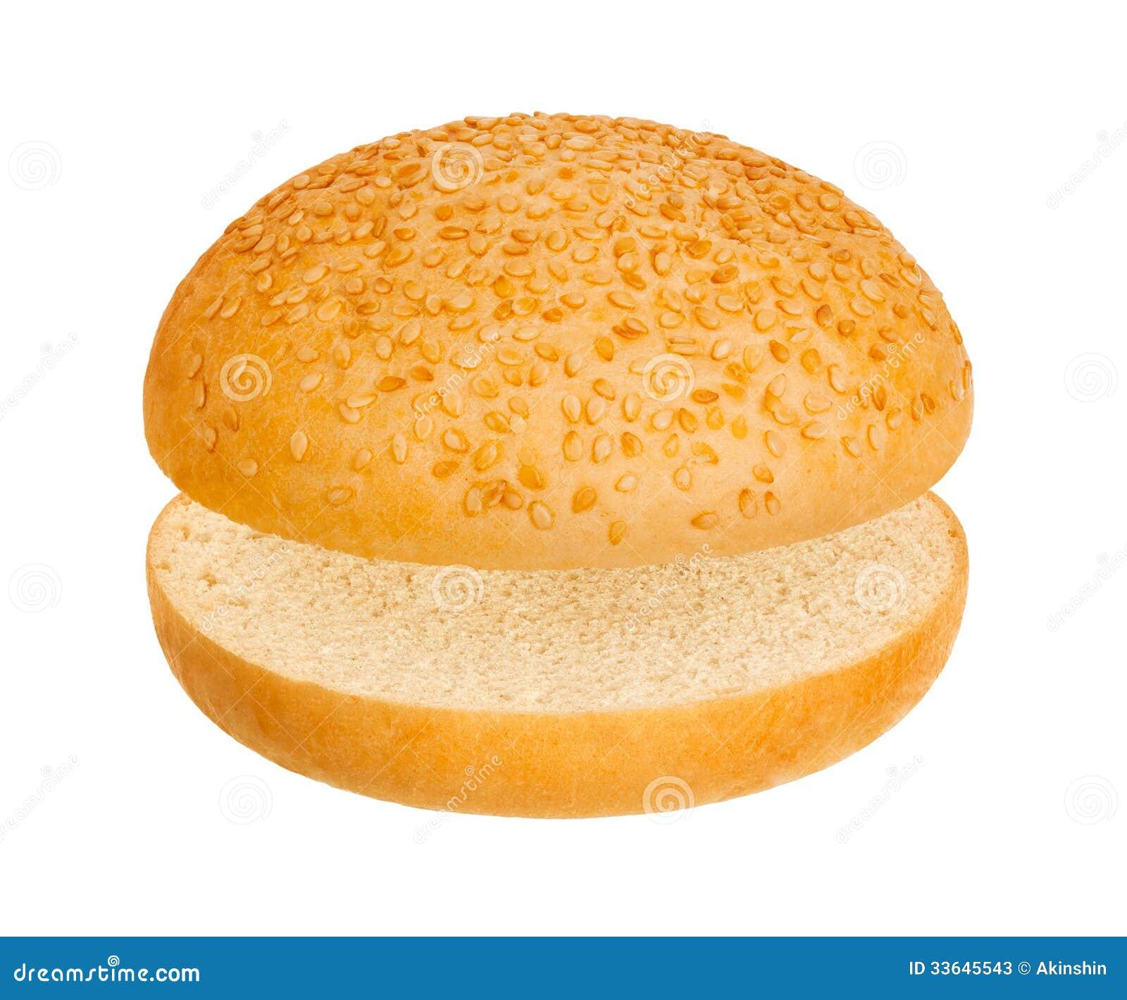 Hamburger Bun Stock Photos - Image: 33645543