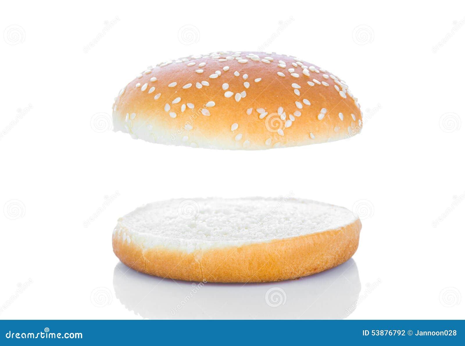 Hamburger Bun Stock Photo - Image: 53876792