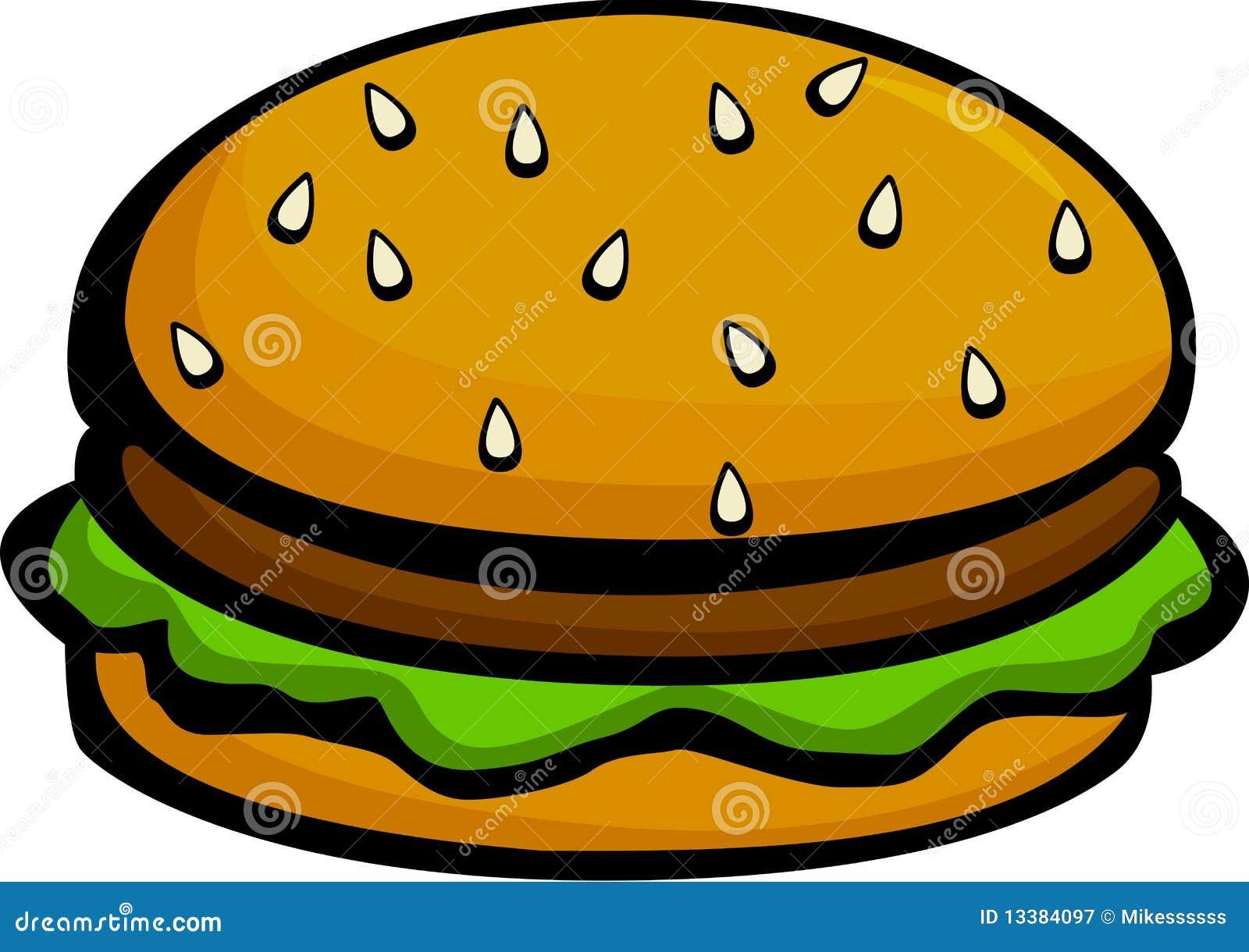 hamburger or cheeseburger vector illustration stock vector burger clip art for kids burger clip art free images