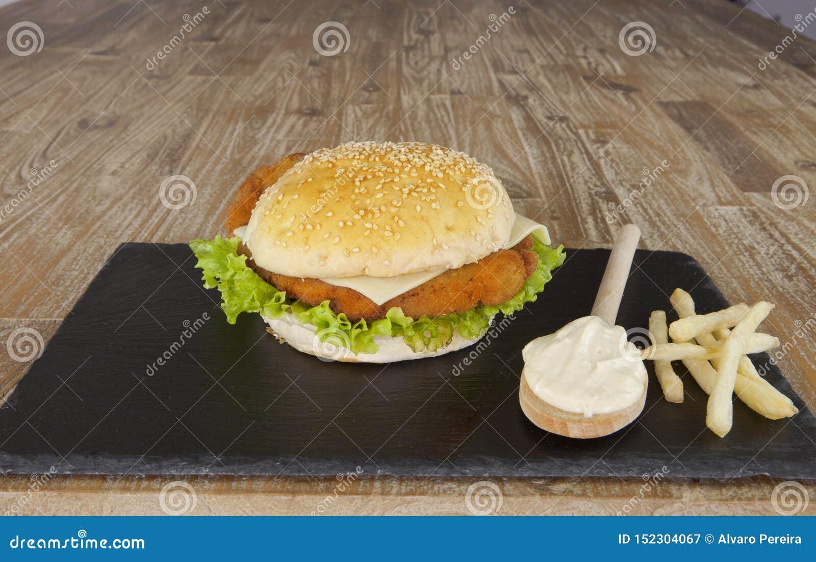 Hamburger del pollo