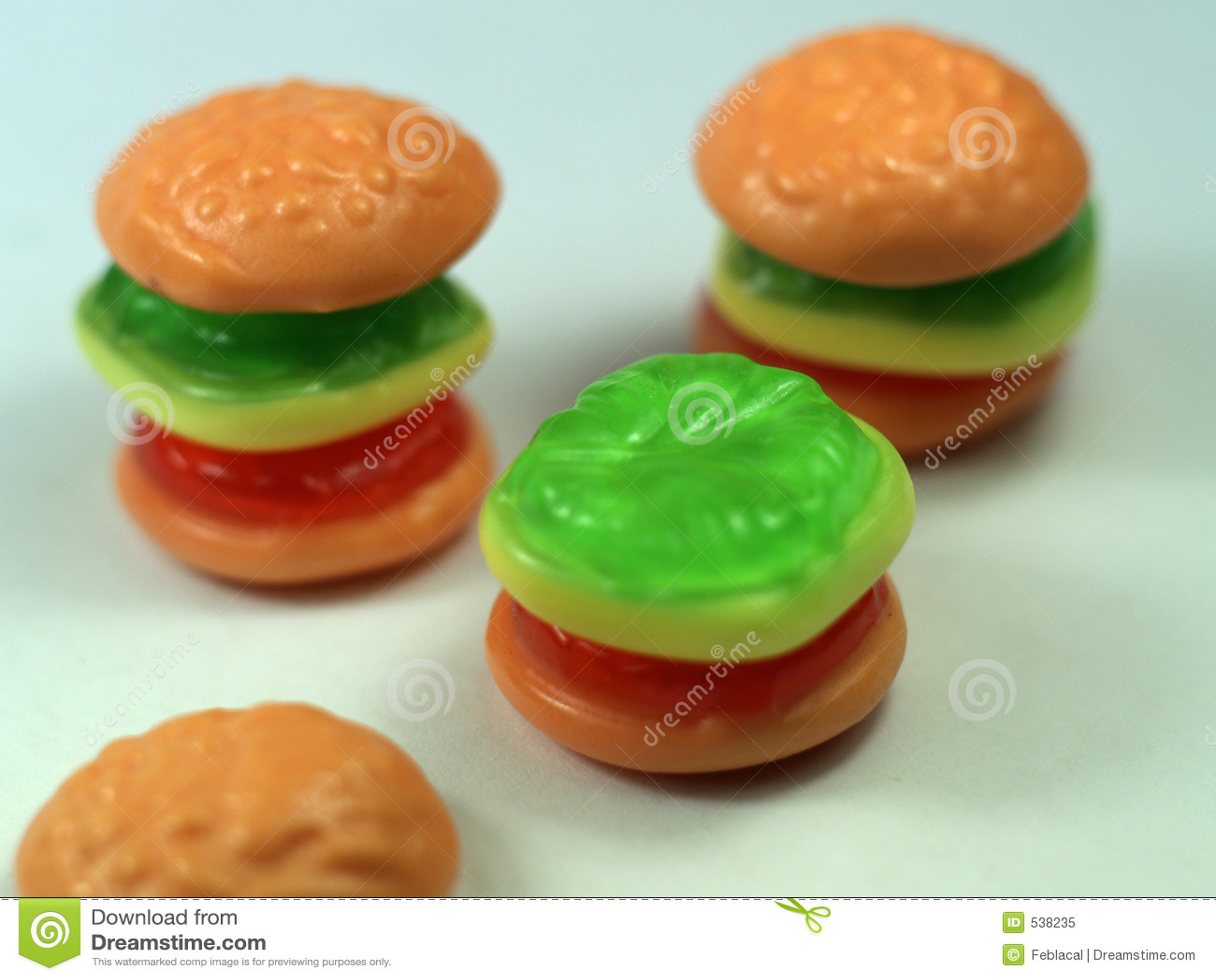 Hamburger dos doces