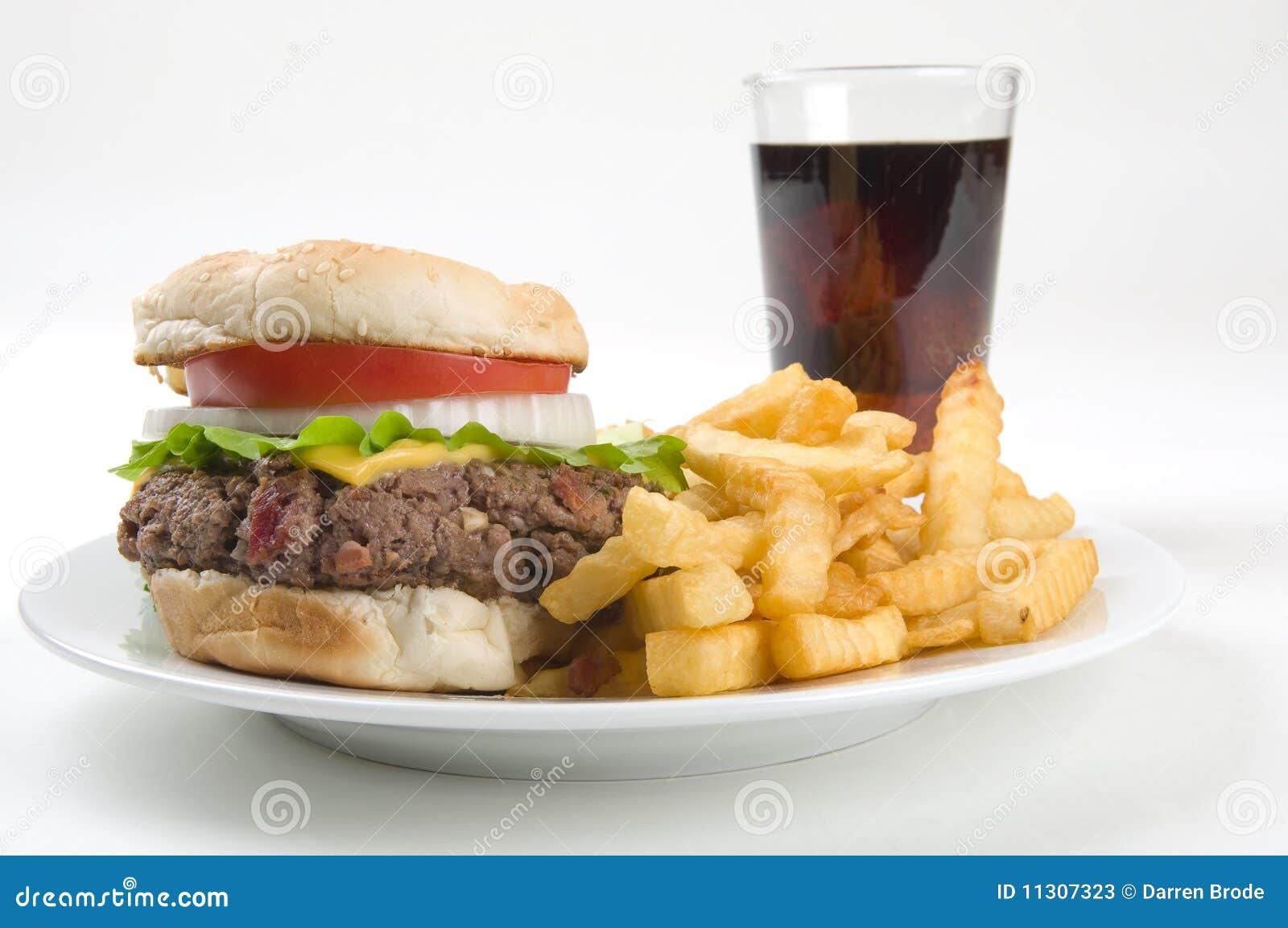 Hamburger-Fischrogen und ein Sodaknall